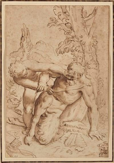 Suiveur de Agostino Carracci
