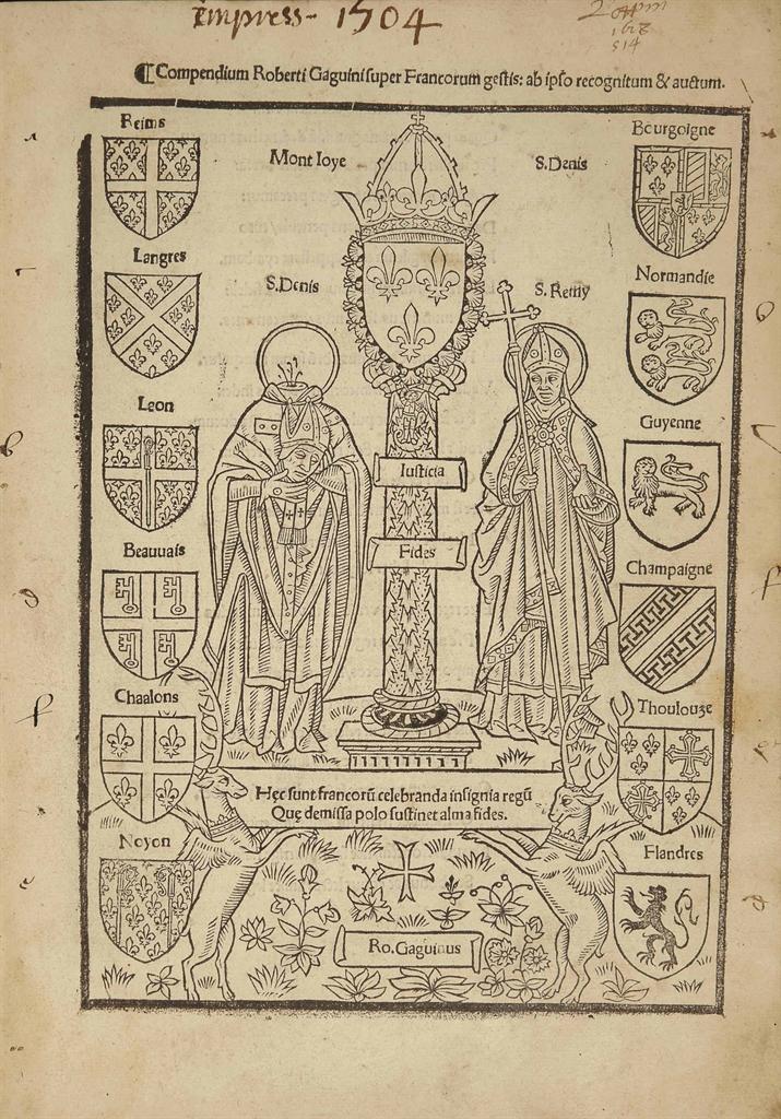 Robert GAGUIN (1434?-1501), Co