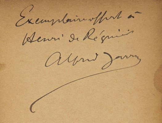Alfred JARRY (1873-1907). Ubu