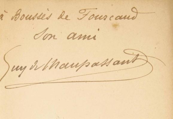 Guy de MAUPASSANT (1850-1893).