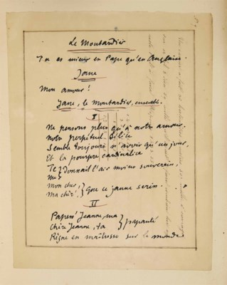 Alfred JARRY (1873-1907). Le M