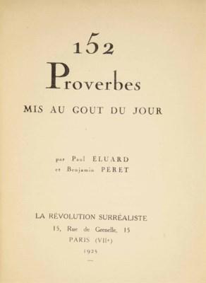 Paul ÉLUARD (1895-1952) & Benj