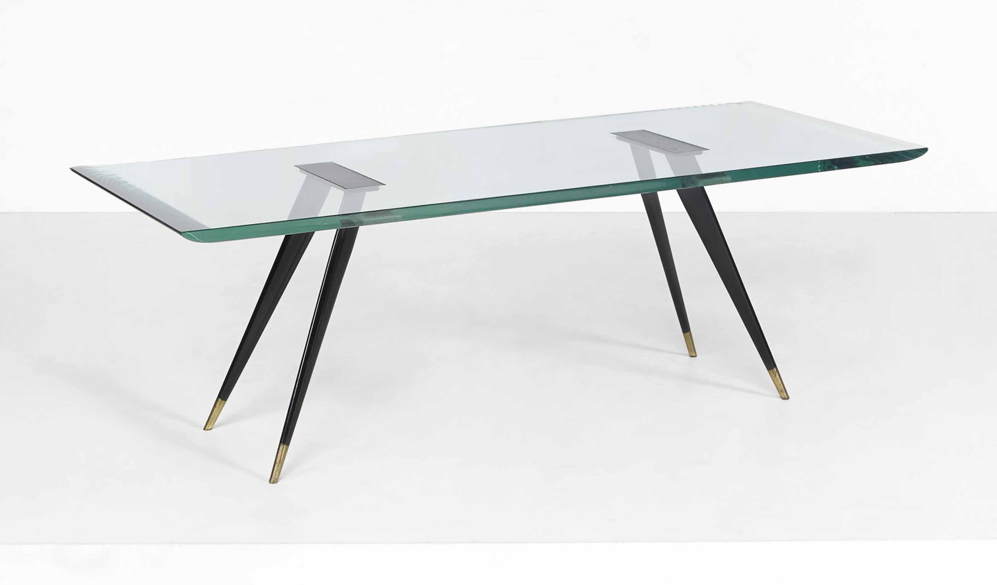 Table Basse Grand Salon fontana arte, le dessin attribue a max ingrand | table basse