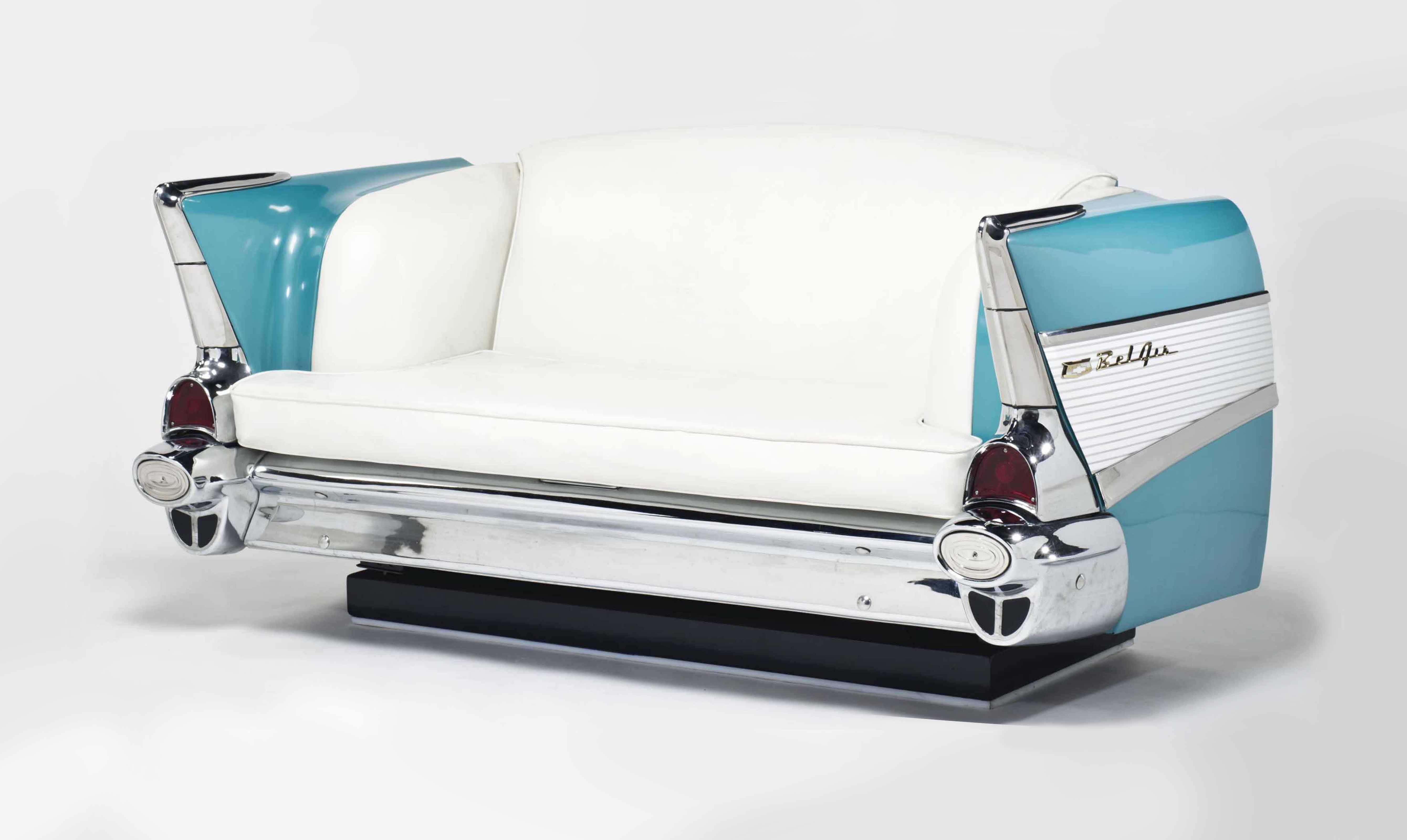 TRAVAIL MODERNE | BANQUETTE CHEVROLET BELAIR | Furniture ...