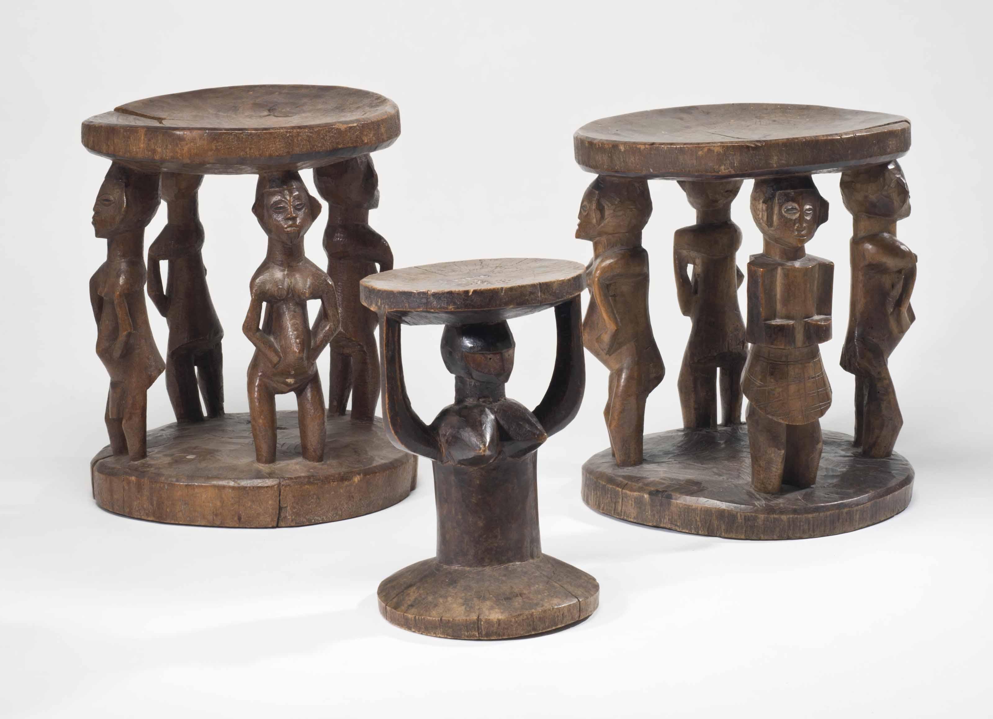 Trois assises d'Afrique Centra