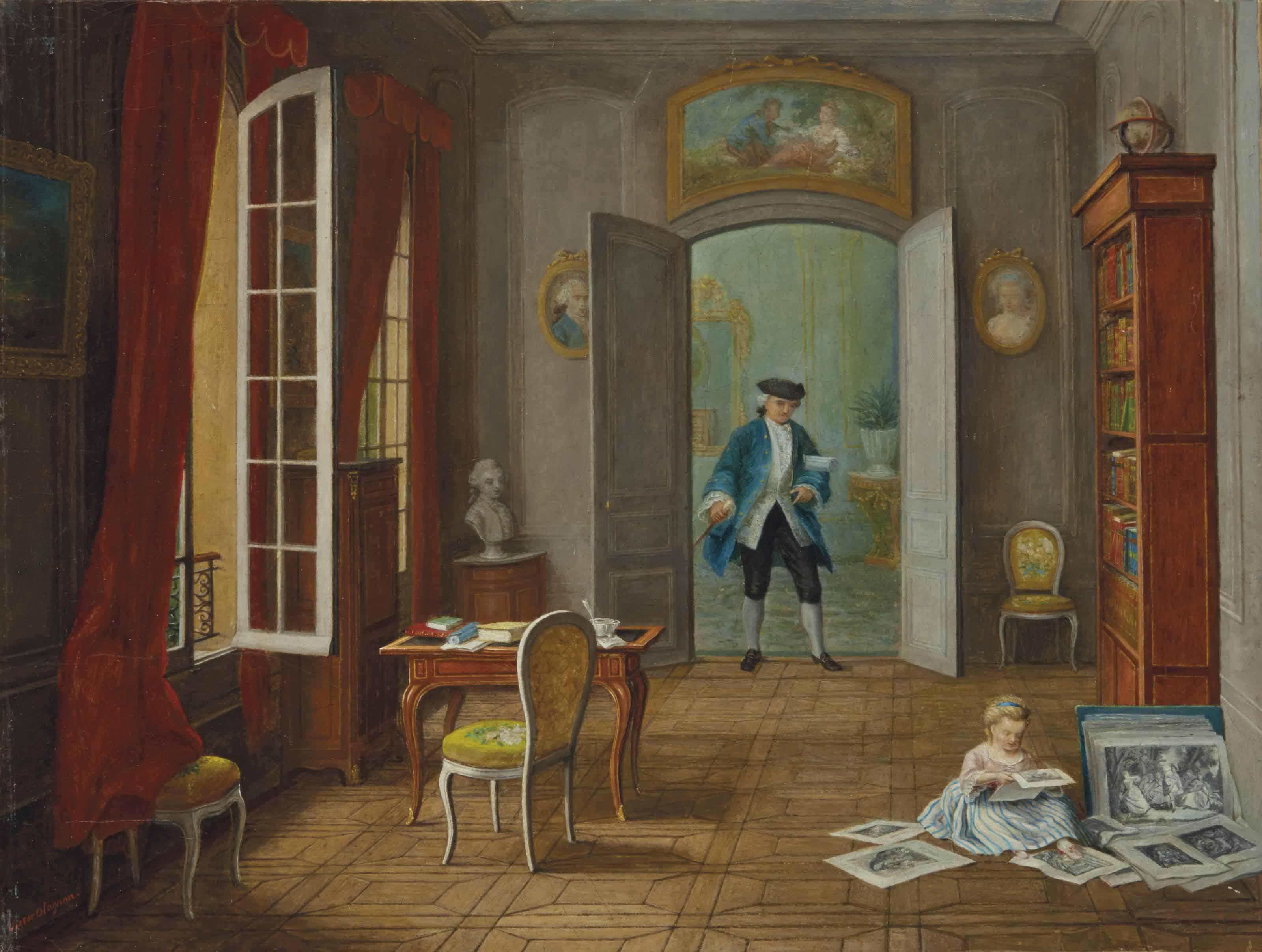 PIERRE VICTOR OLAGNON (PARIS 1