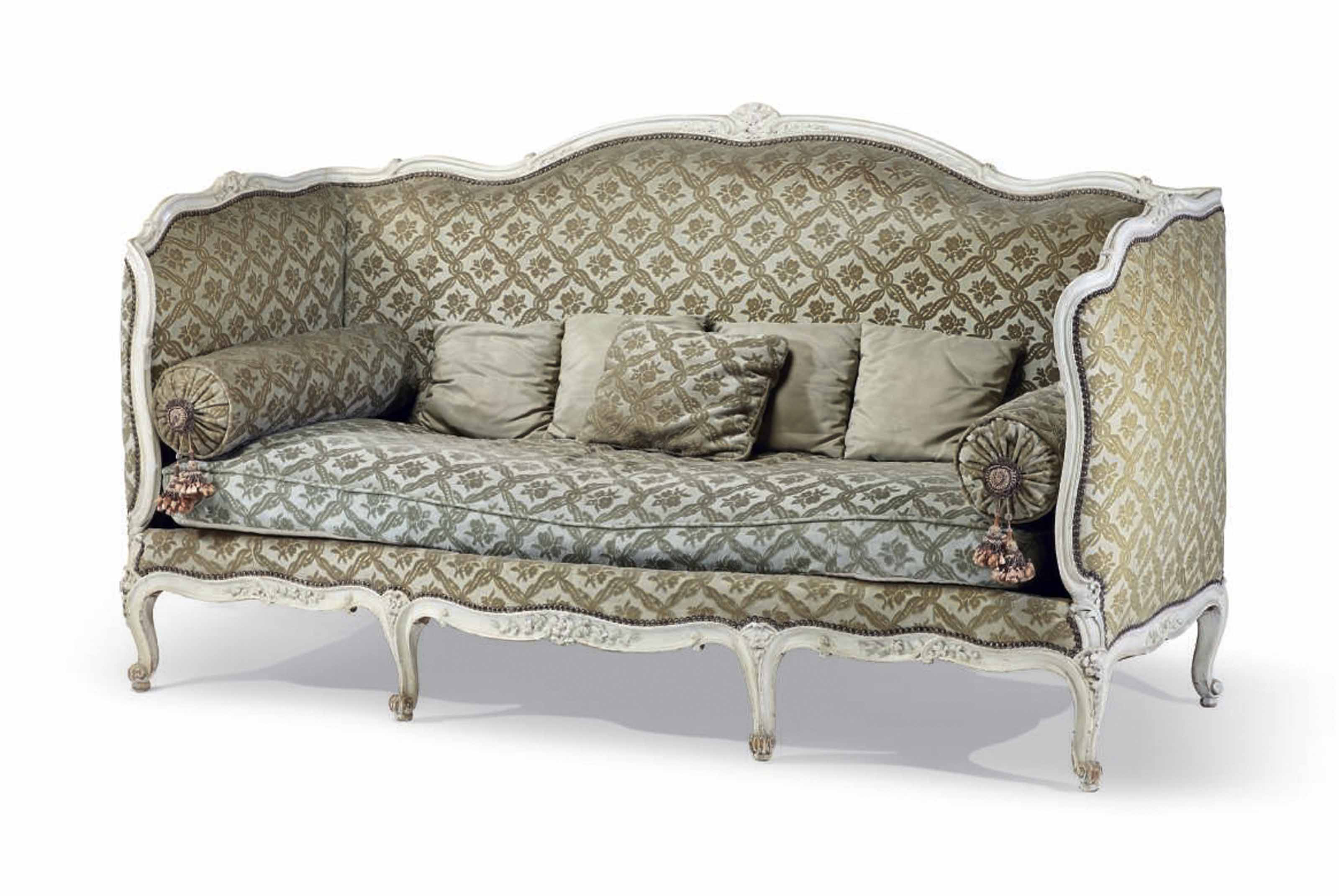 canape de style louis xv attribue a la maison jansen christie 39 s. Black Bedroom Furniture Sets. Home Design Ideas