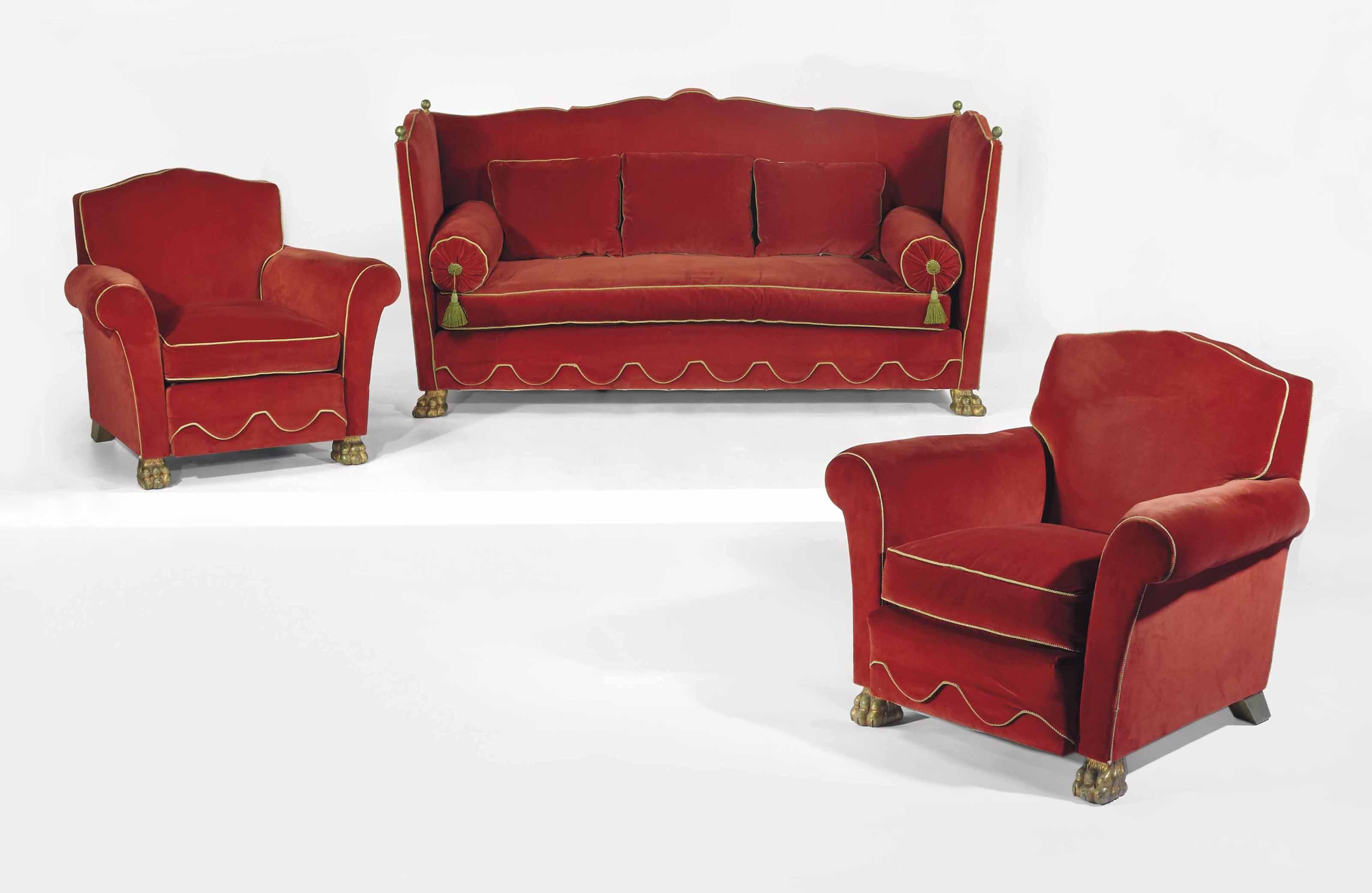 Jean charles moreux 1889 1956 mobilier de salon vers 1937 christie 39 s for Mobilier de salon