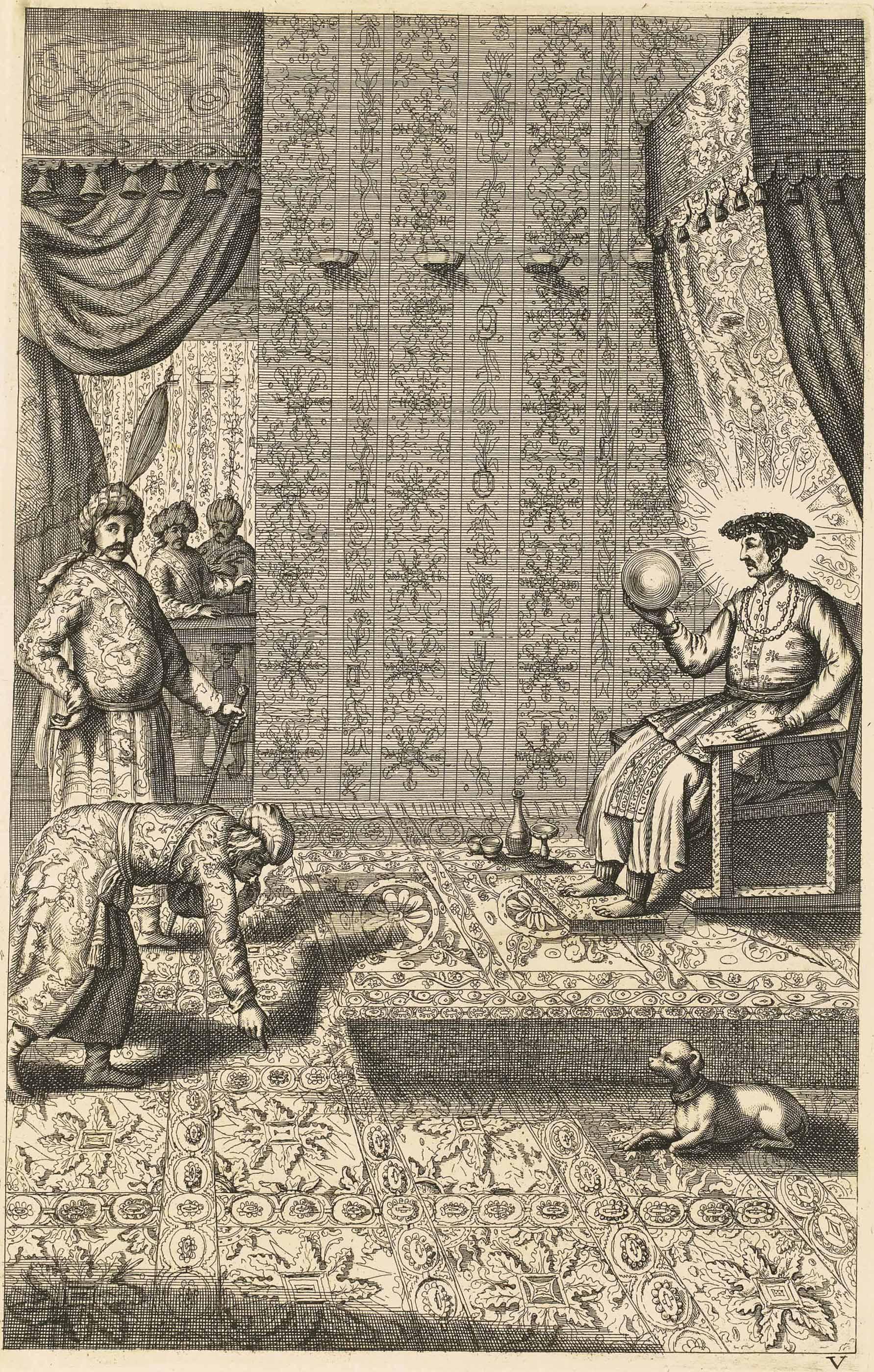 Athanase KIRCHER (1602-1680). China monumentis, qua Sacris qua Profanis, nec non variis naturæ & artis spectaculis, aliarumque rerum memorabilium argumentis illustrata. Amsterdam : Jacob van Meurs, 1667. In-folio (320 x 210 mm). Frontispice gravé, portrait de l'auteur, 25 planches hors texte, dont deux cartes, et 55 figures dans le texte, le tout gravé sur cuivre. Reliure italienne contemporaine de l'édition en vélin jaune, titre à l'encre au dos lisse, tranches mouchetées.