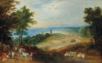 Paysage au moulin