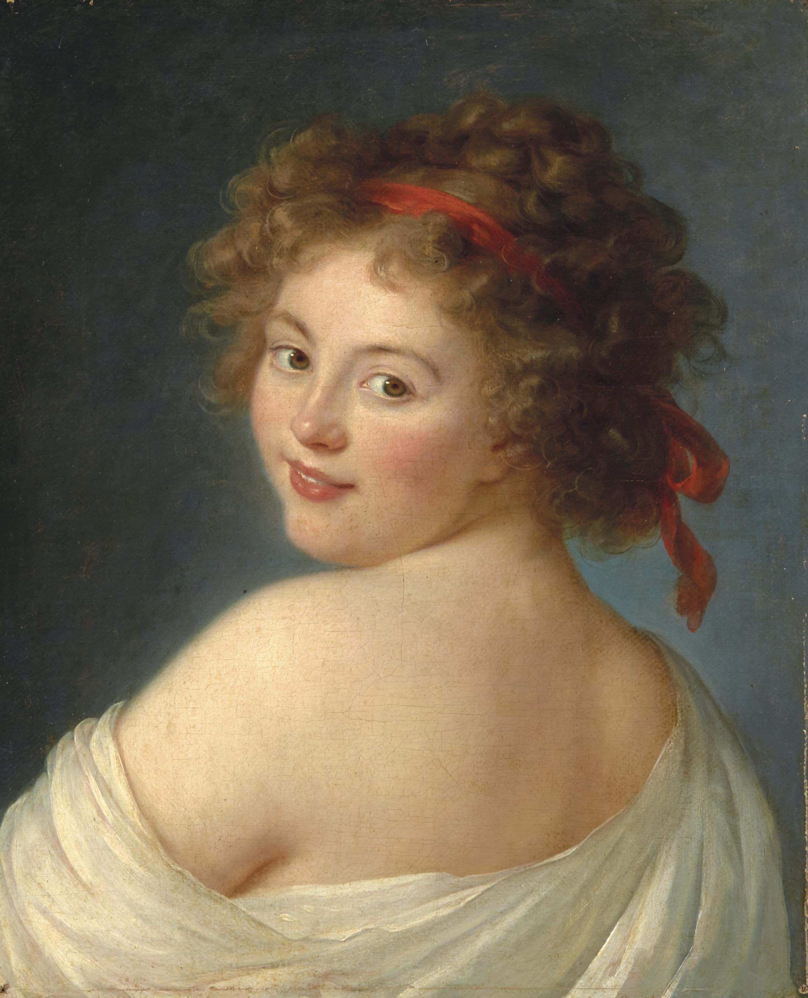 Portrait présumé d'Ekaterina Vassilievna Skavronskaia, comtesse Litta