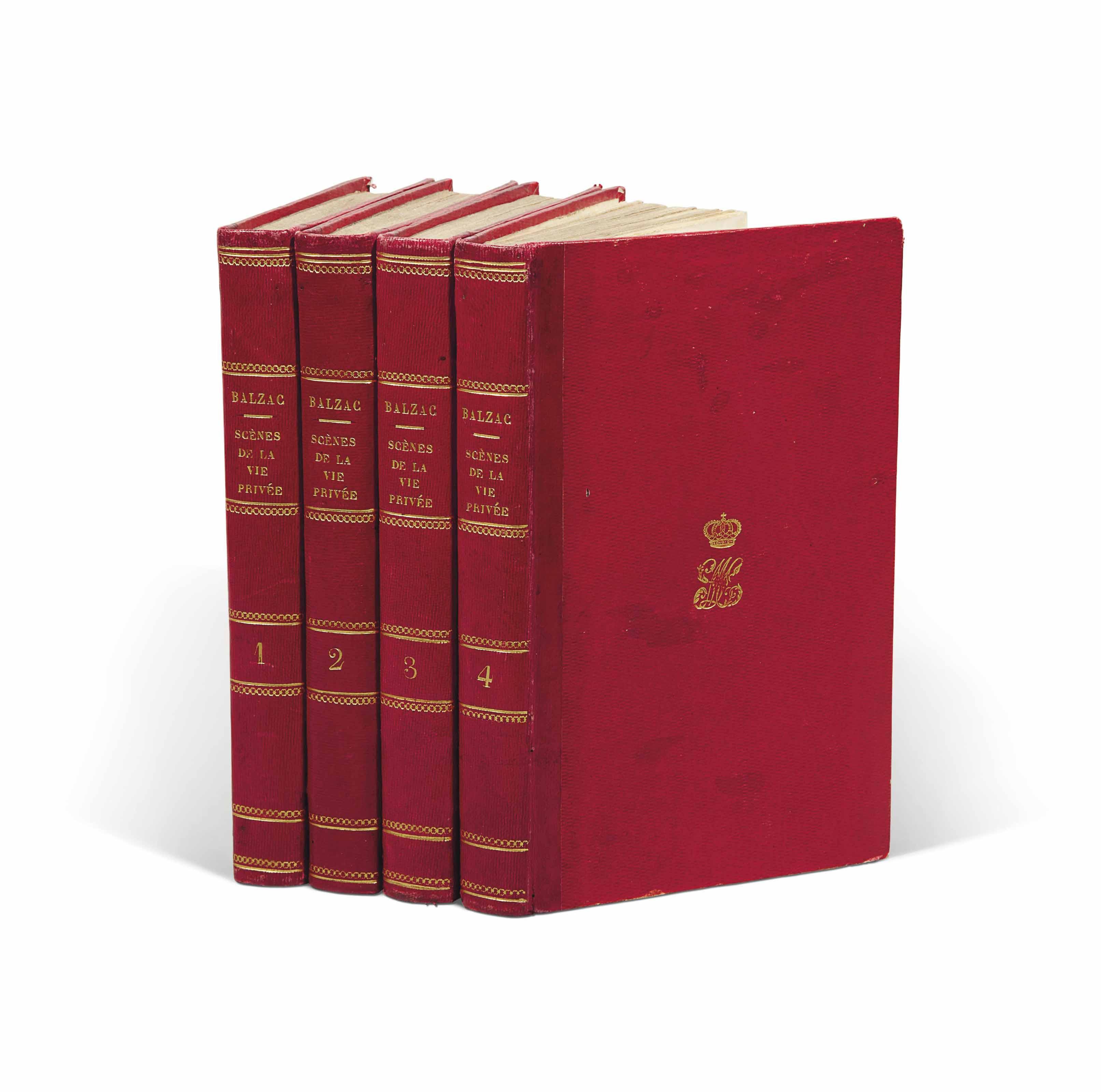 Honor de balzac 1799 1850 sc nes de la vie priv e paris mame et delaunay vall e - Cabinet honore de balzac ...
