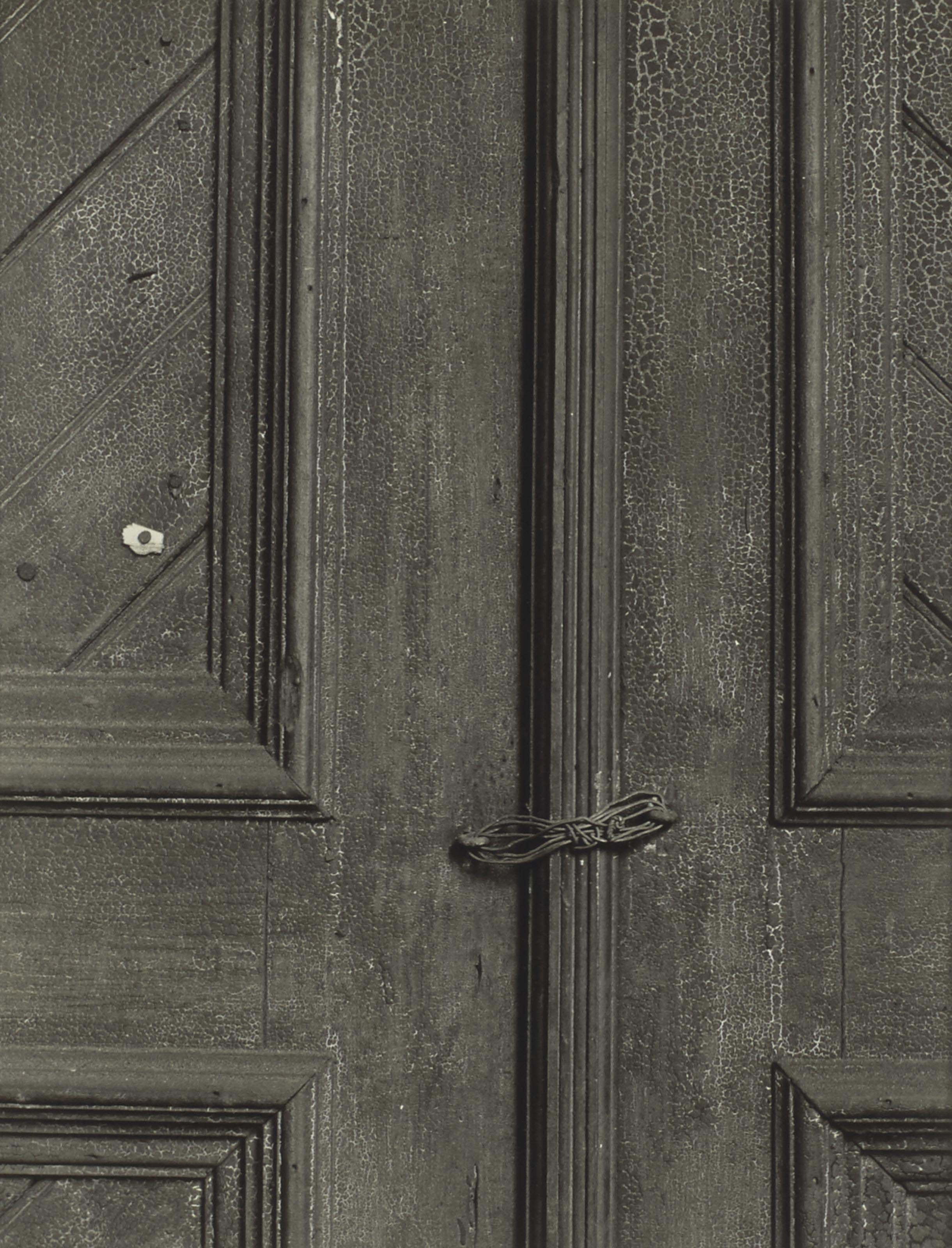 Untitled (Door with Wire), vers 1940
