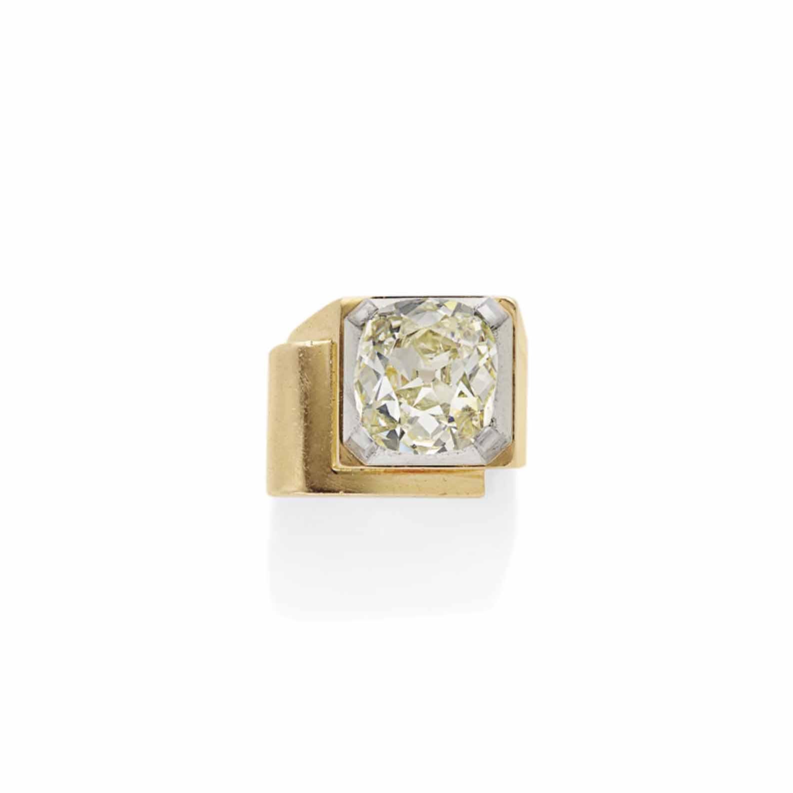 bague diamant retro