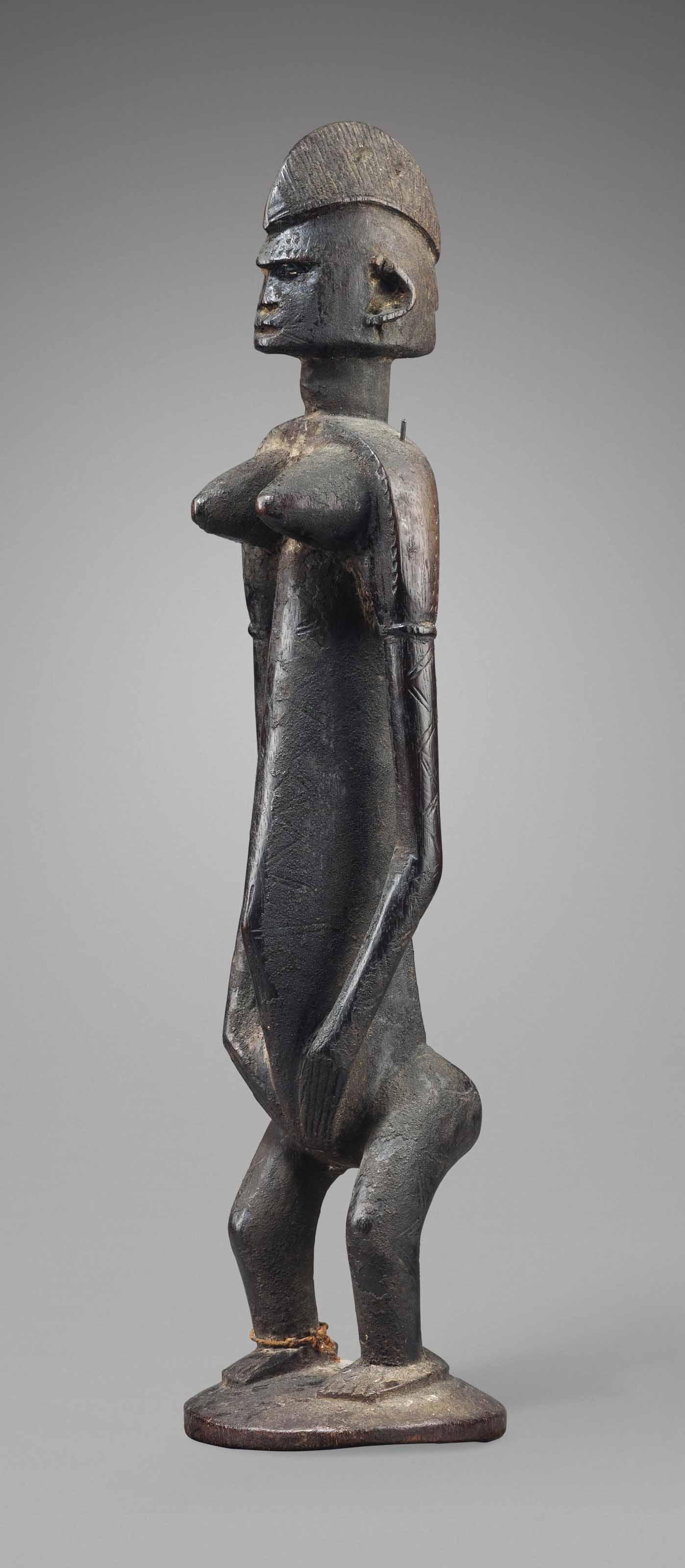 Statue Bamana, jonyeleni Baman