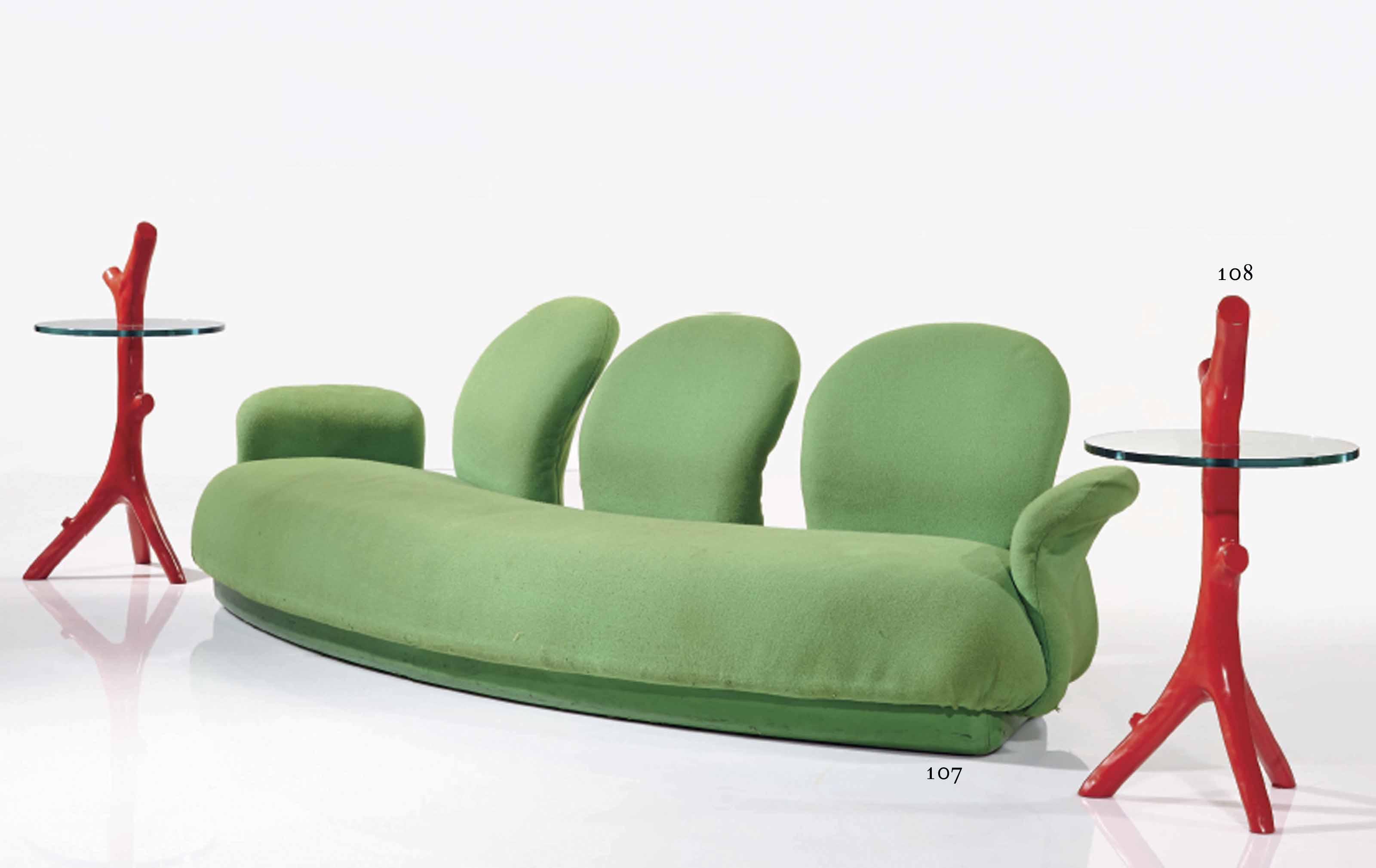 pierre paulin n en 1927 canap 39 f286 3 39 dit 39 multimo 39 le mod le cr en 1969 1970 dition. Black Bedroom Furniture Sets. Home Design Ideas