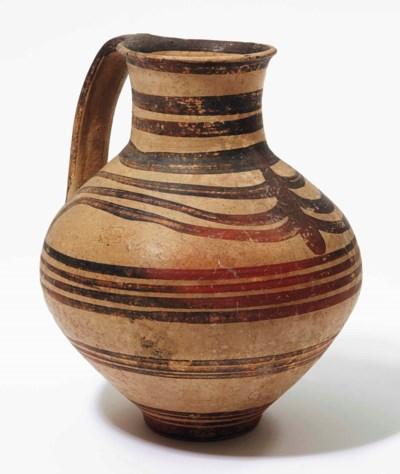jarre en terre cuite art mycenien circa 1425 1100 avant. Black Bedroom Furniture Sets. Home Design Ideas
