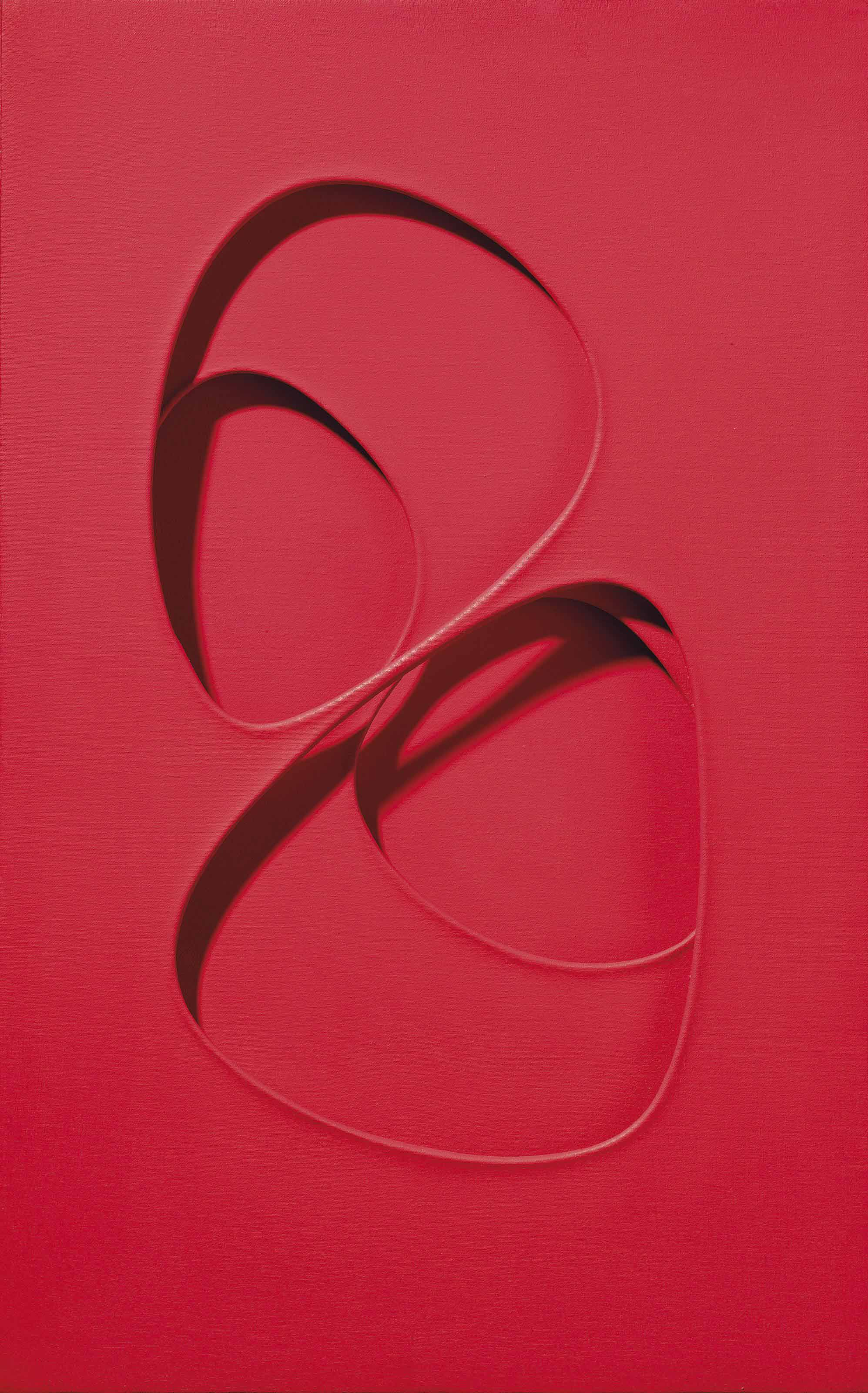Intersuperficie curva dal rosso