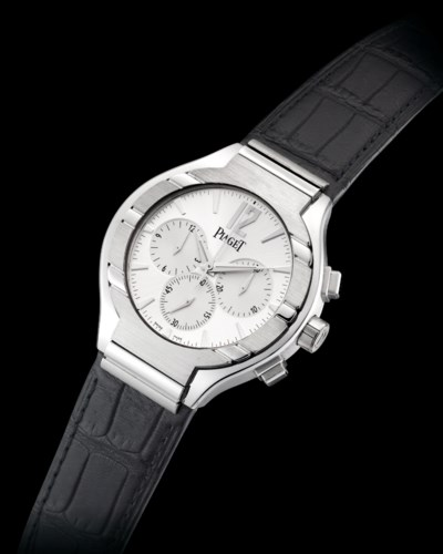 PIAGET. AN 18K WHITE GOLD TONN