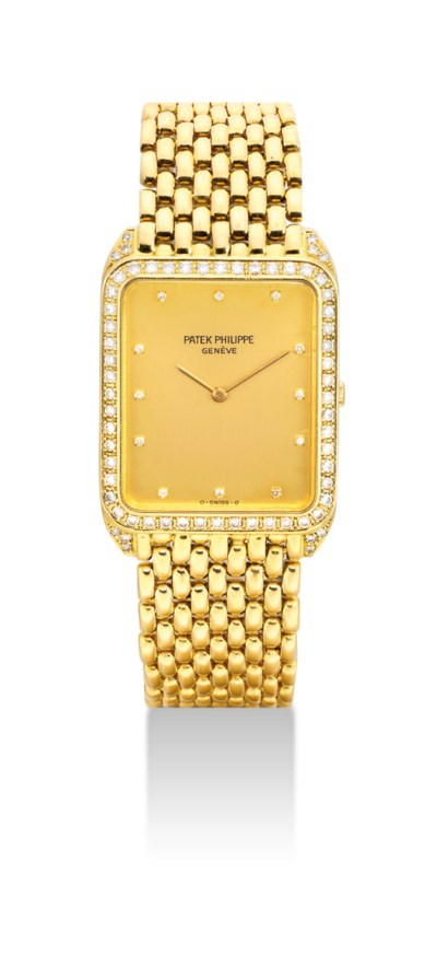 PATEK PHILIPPE. AN 18K GOLD AN