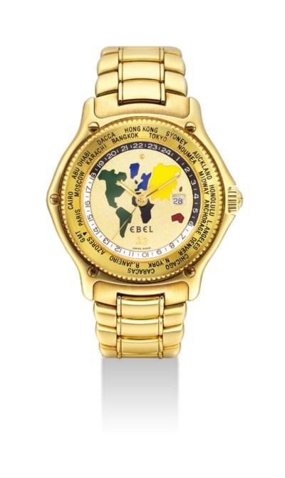 EBEL. AN 18K GOLD AUTOMATIC WO