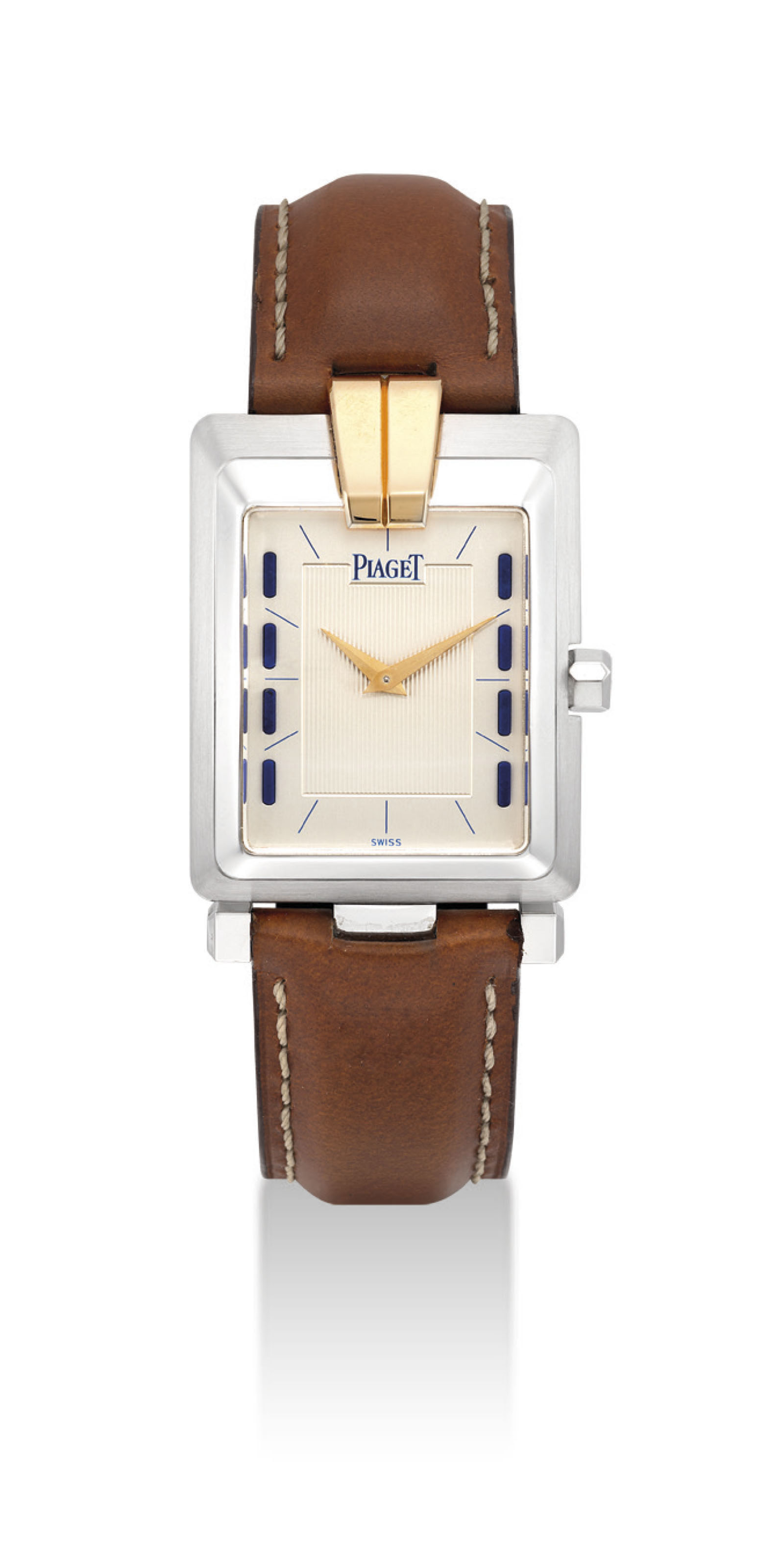 PIAGET. AN 18K TWO-COLOUR GOLD