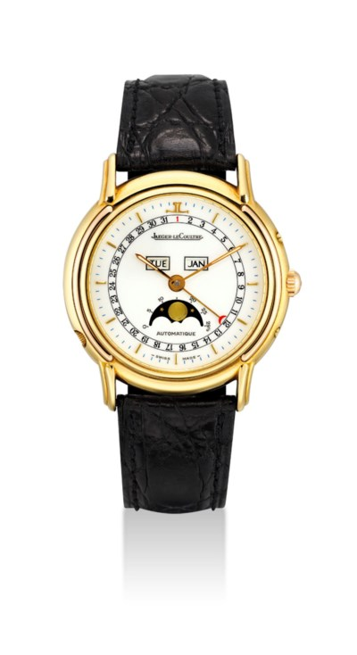 JAEGER-LECOULTRE. AN 18K TWO-C