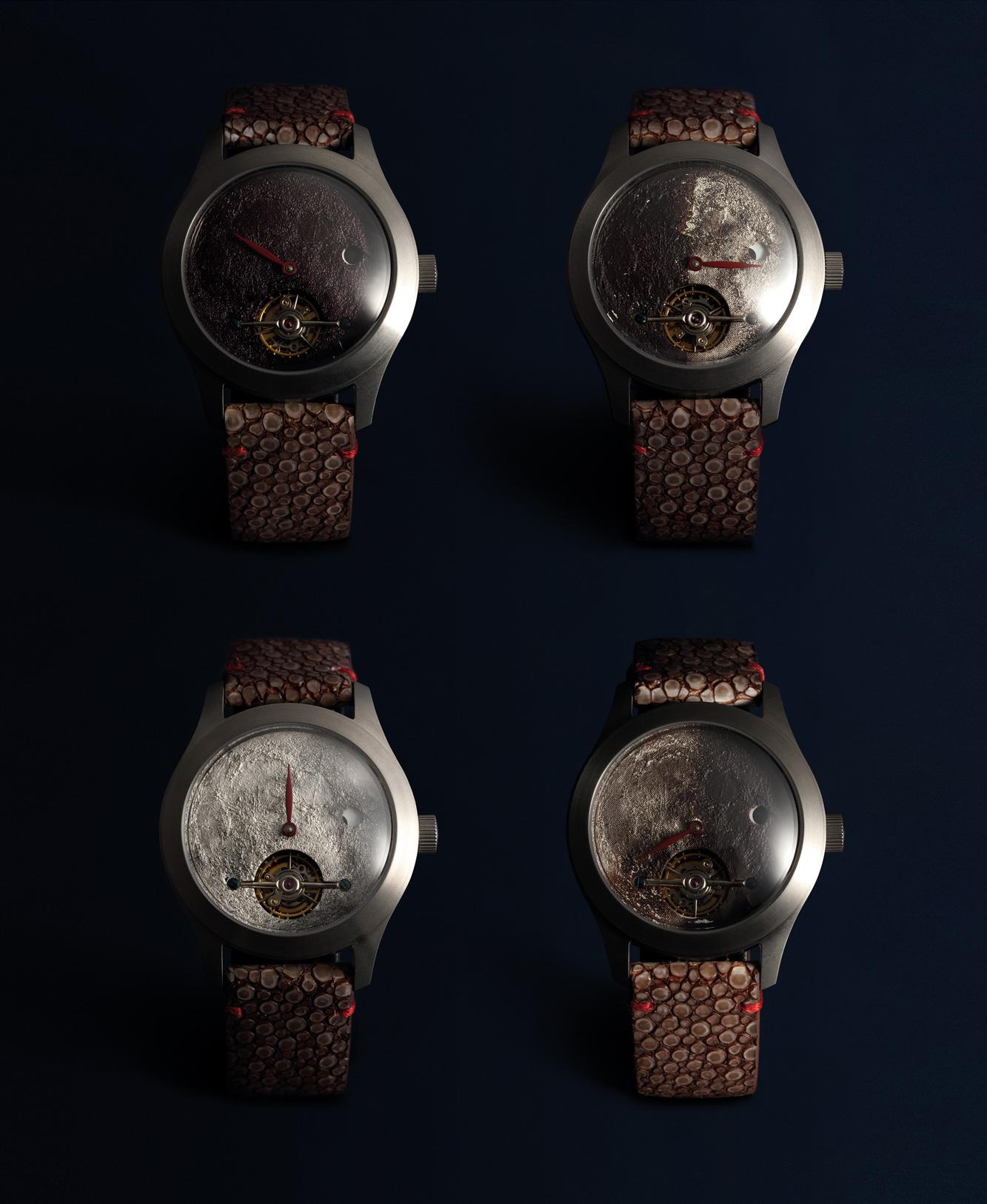 'SHANGHAI MOONS'  A set of fou