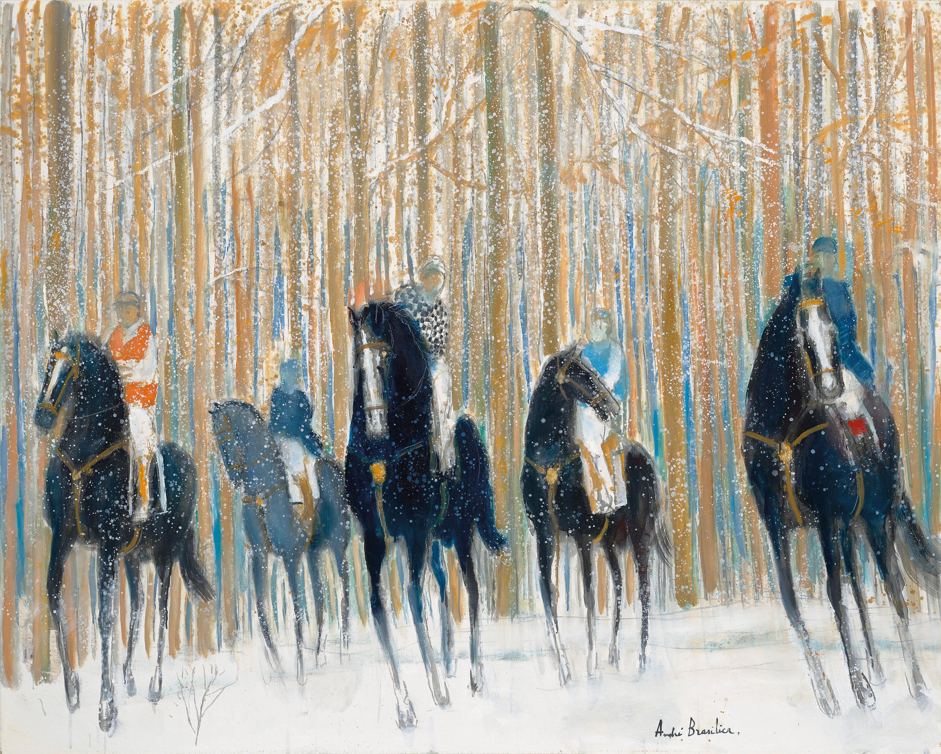 Promenade à cheval André