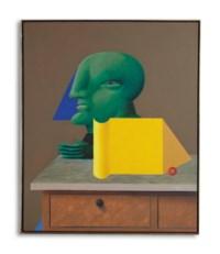 Stilleben mit Grüner Figur (Still Life with Green Figure)