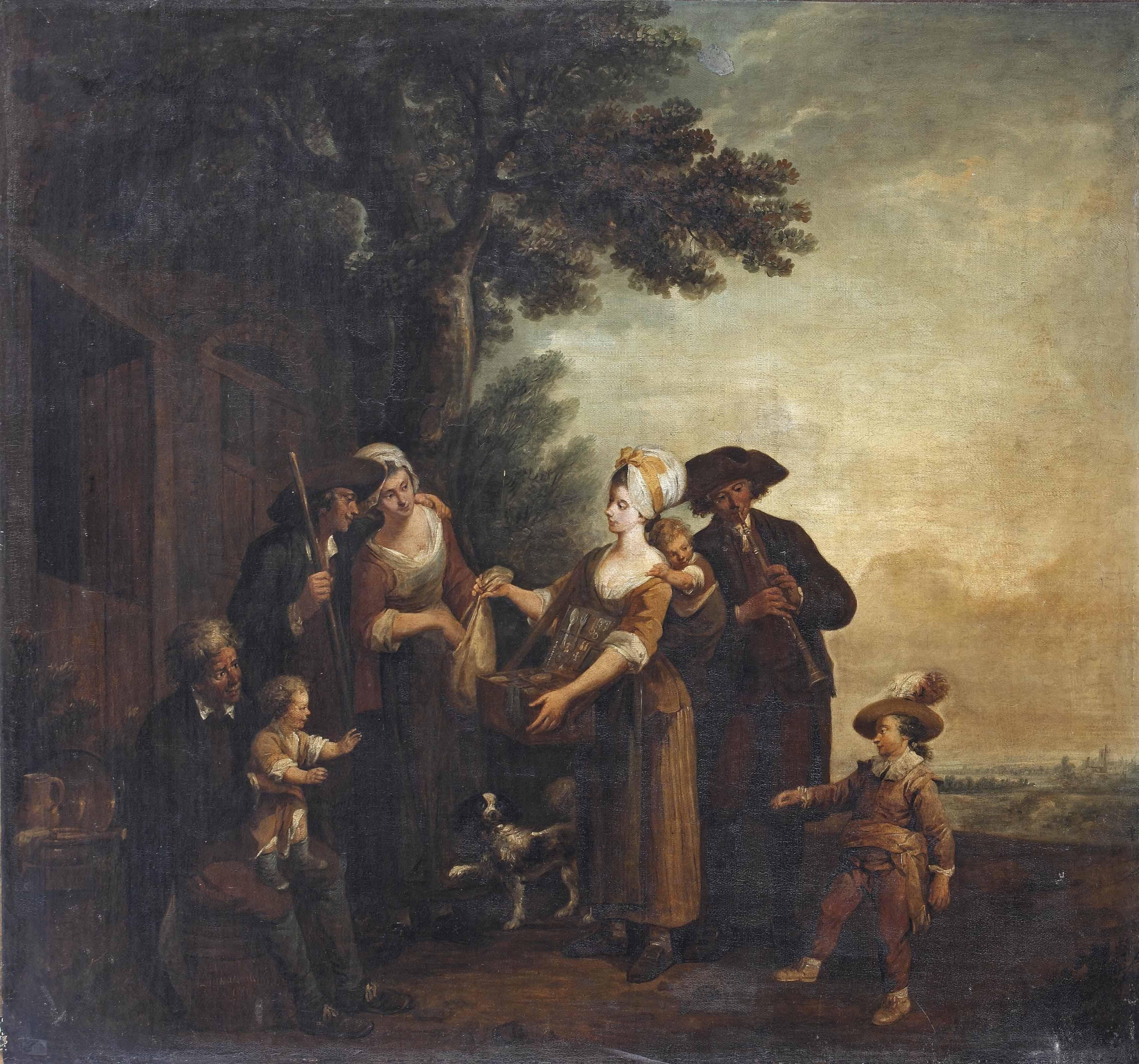 Louis-Joseph Watteau, called W