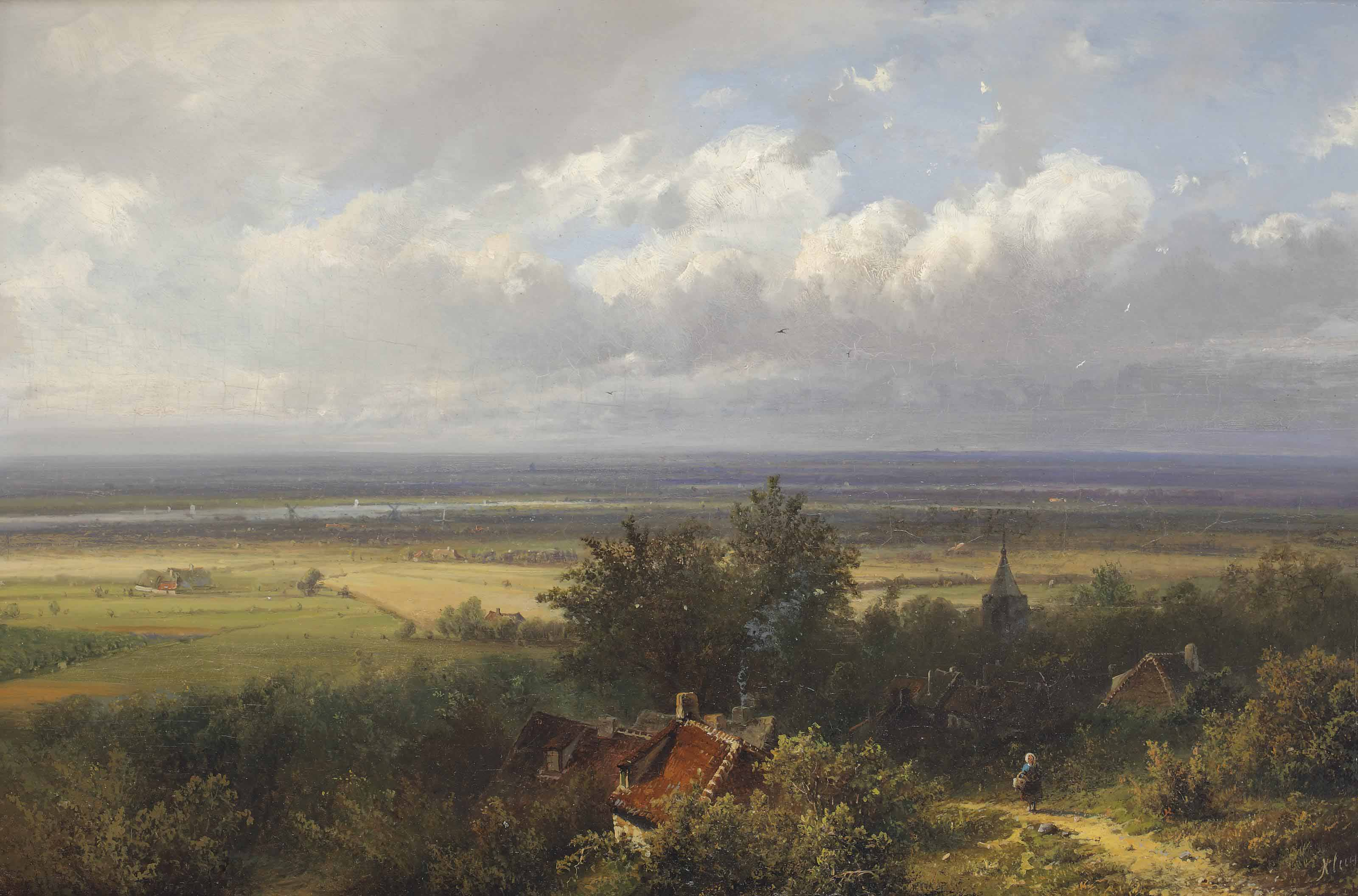 A panoramic landscape