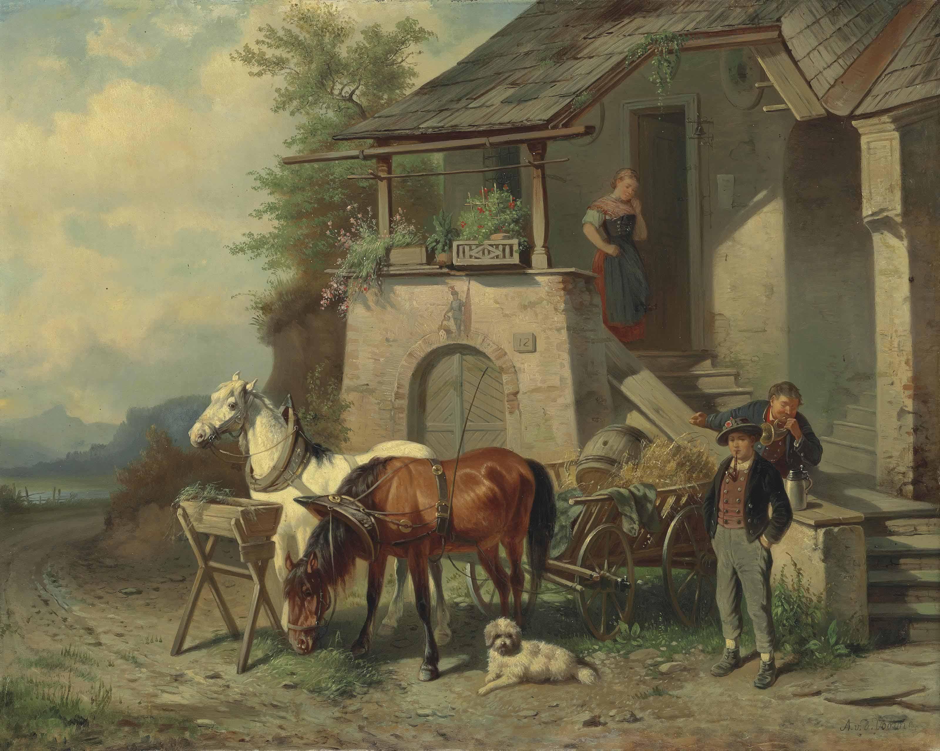 Adolph van der Venne (Vienna 1