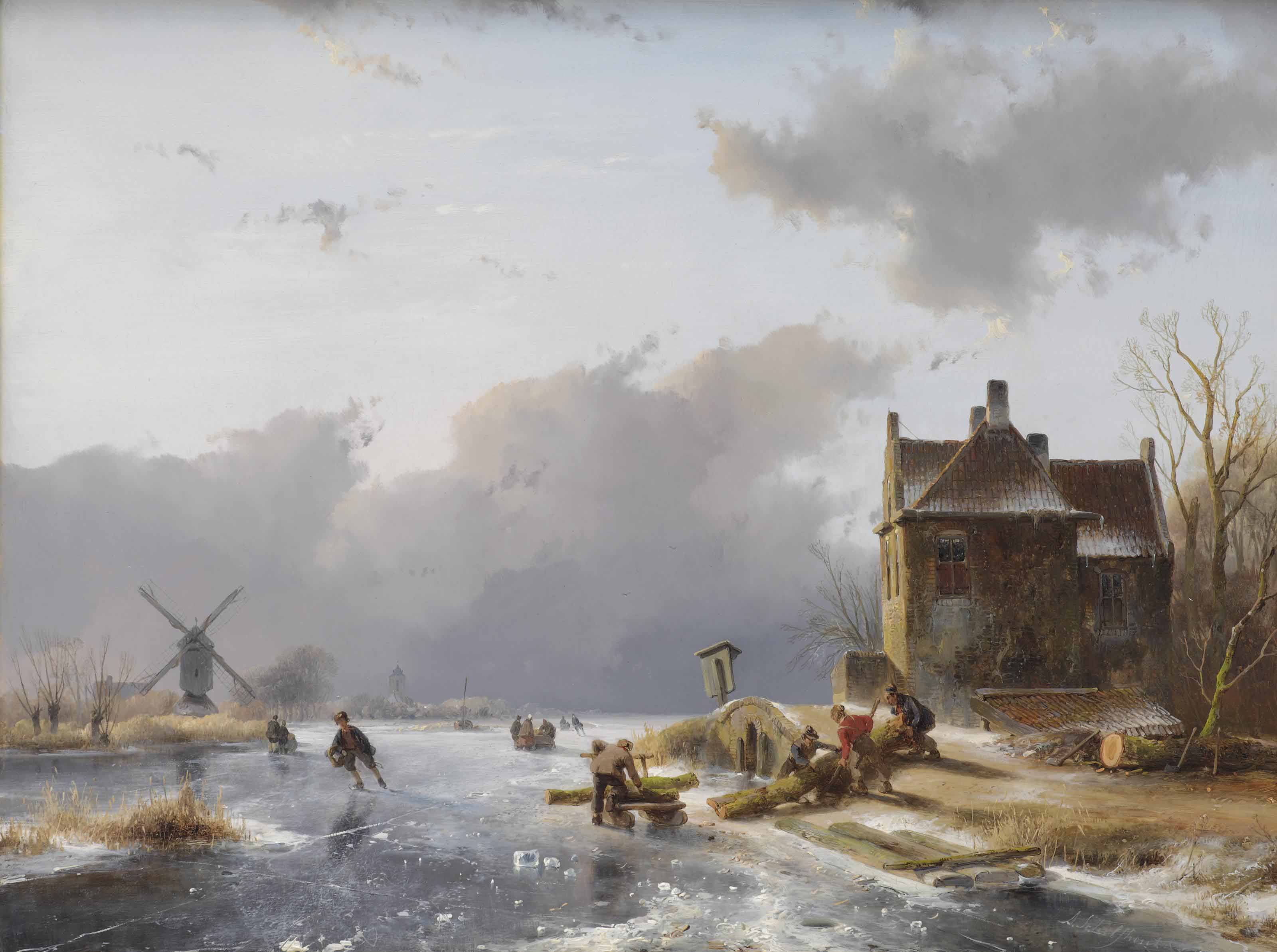 Andreas Schelfhout (The Hague