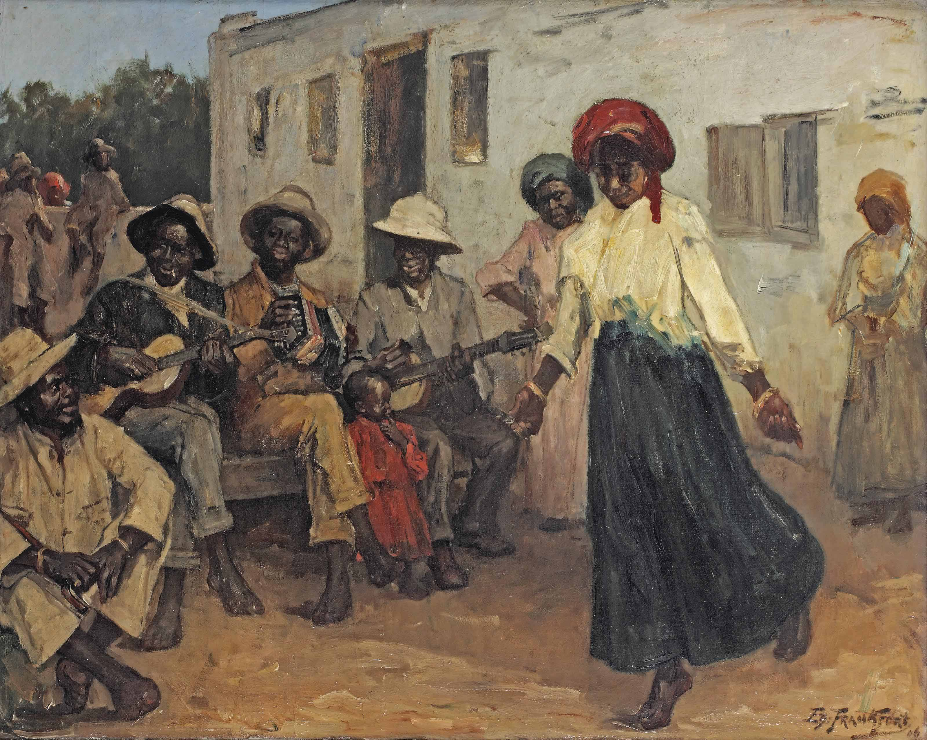 A musical gathering, South-Africa