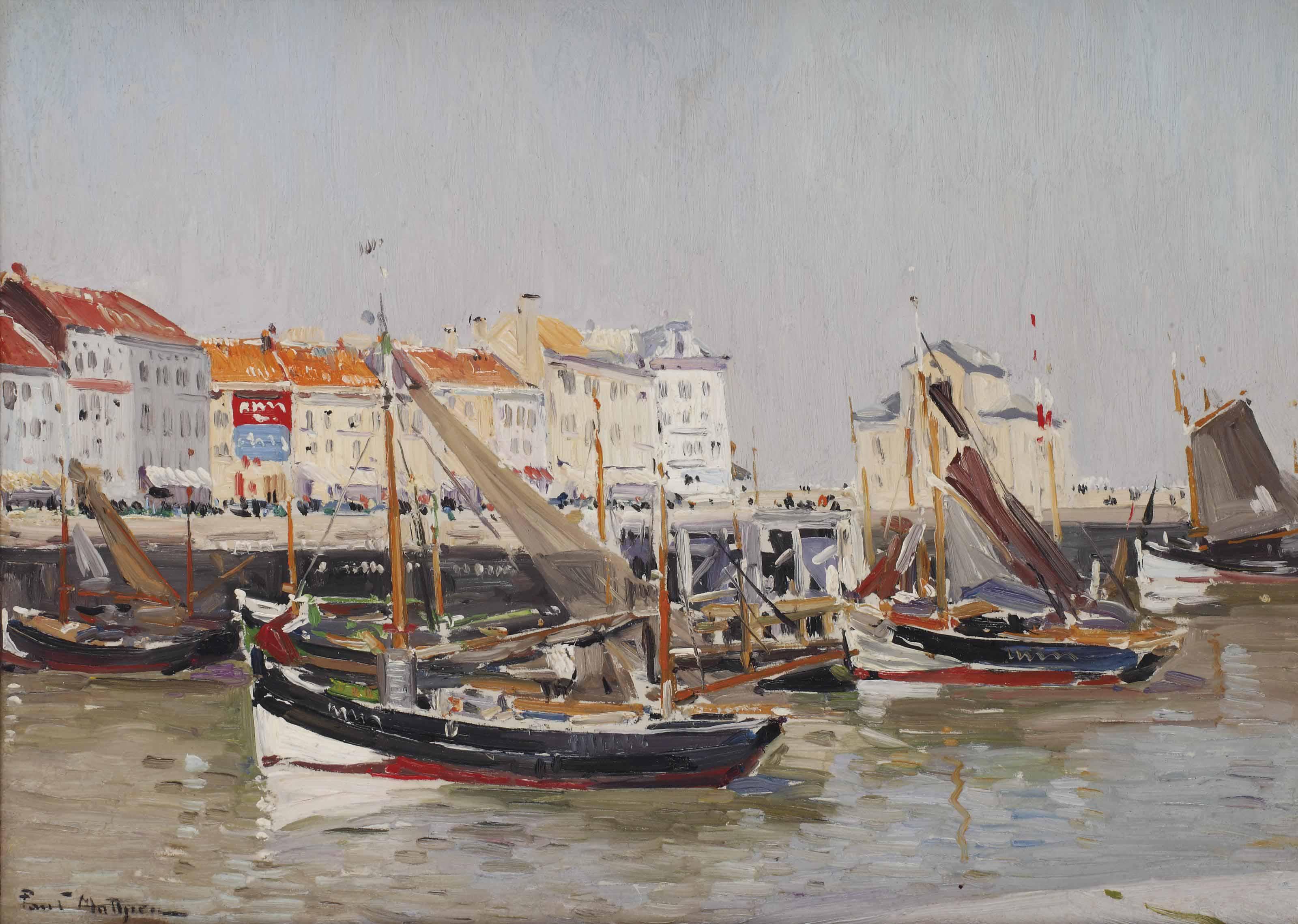 Bassin des Pêcheurs, Ostende