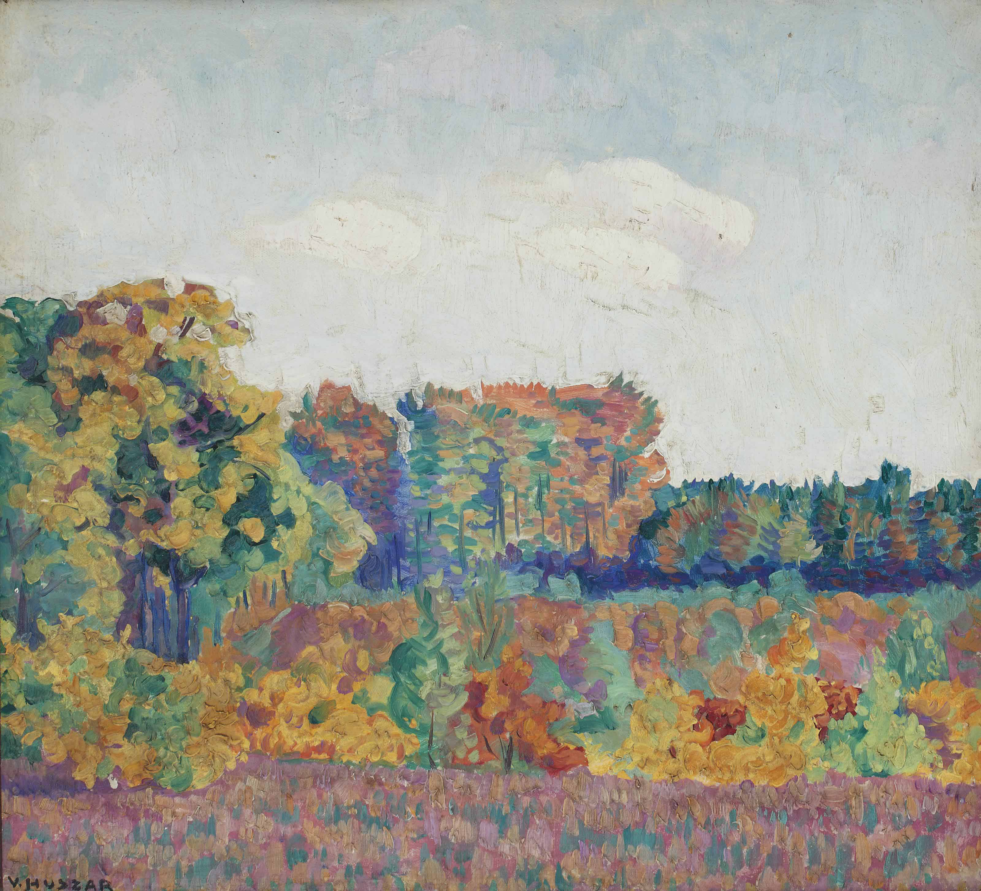 An autumn landscape