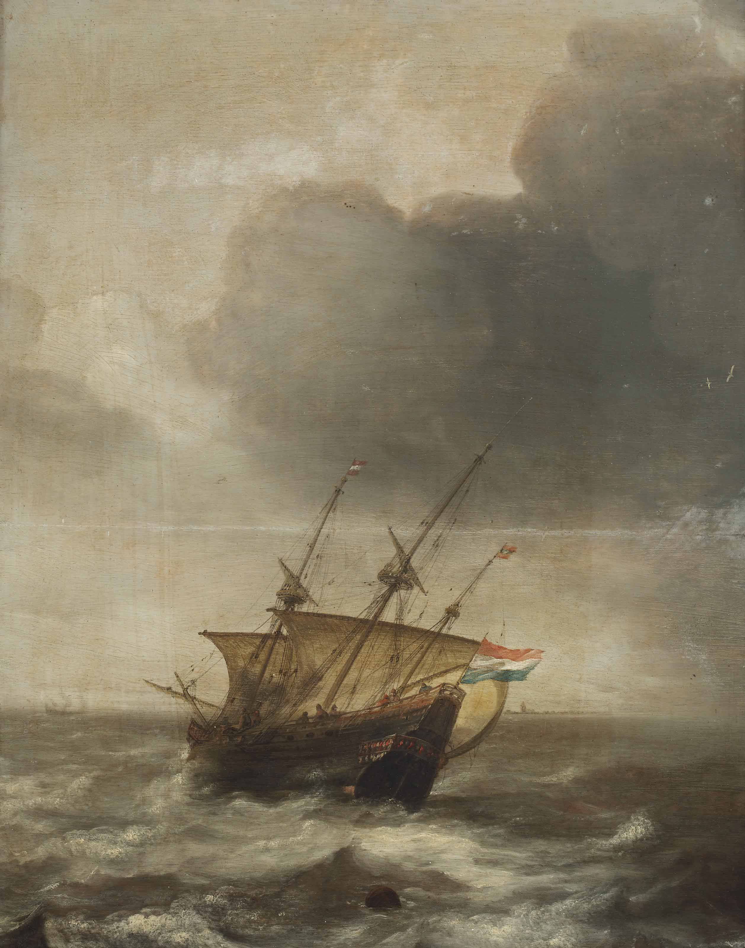 Attributed to Jan Porcellis (G