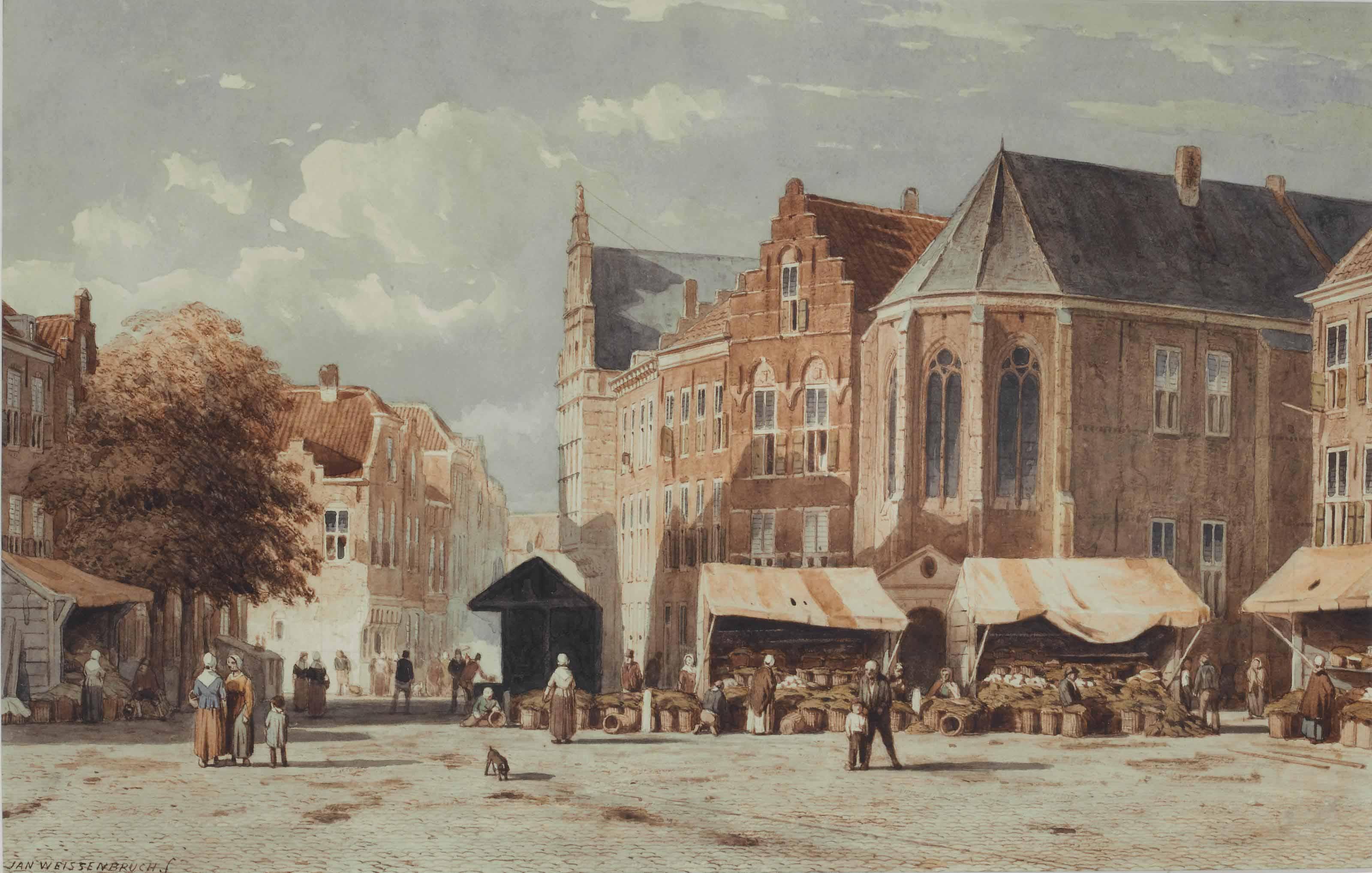 The Groenmarkt, The Hague