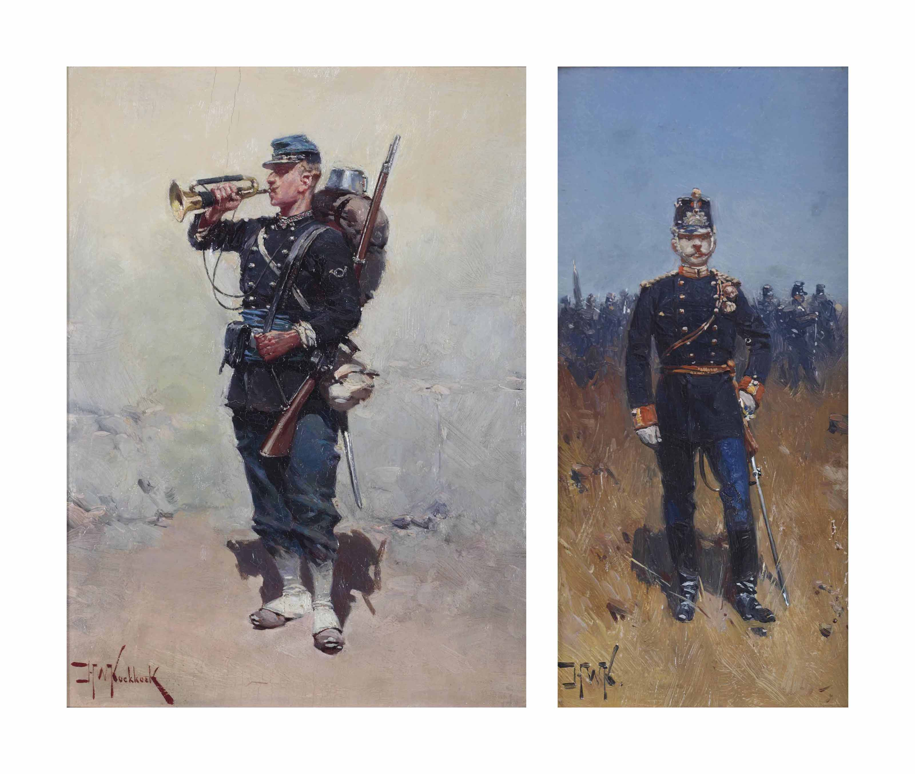 An infanterist; and A Grenadier