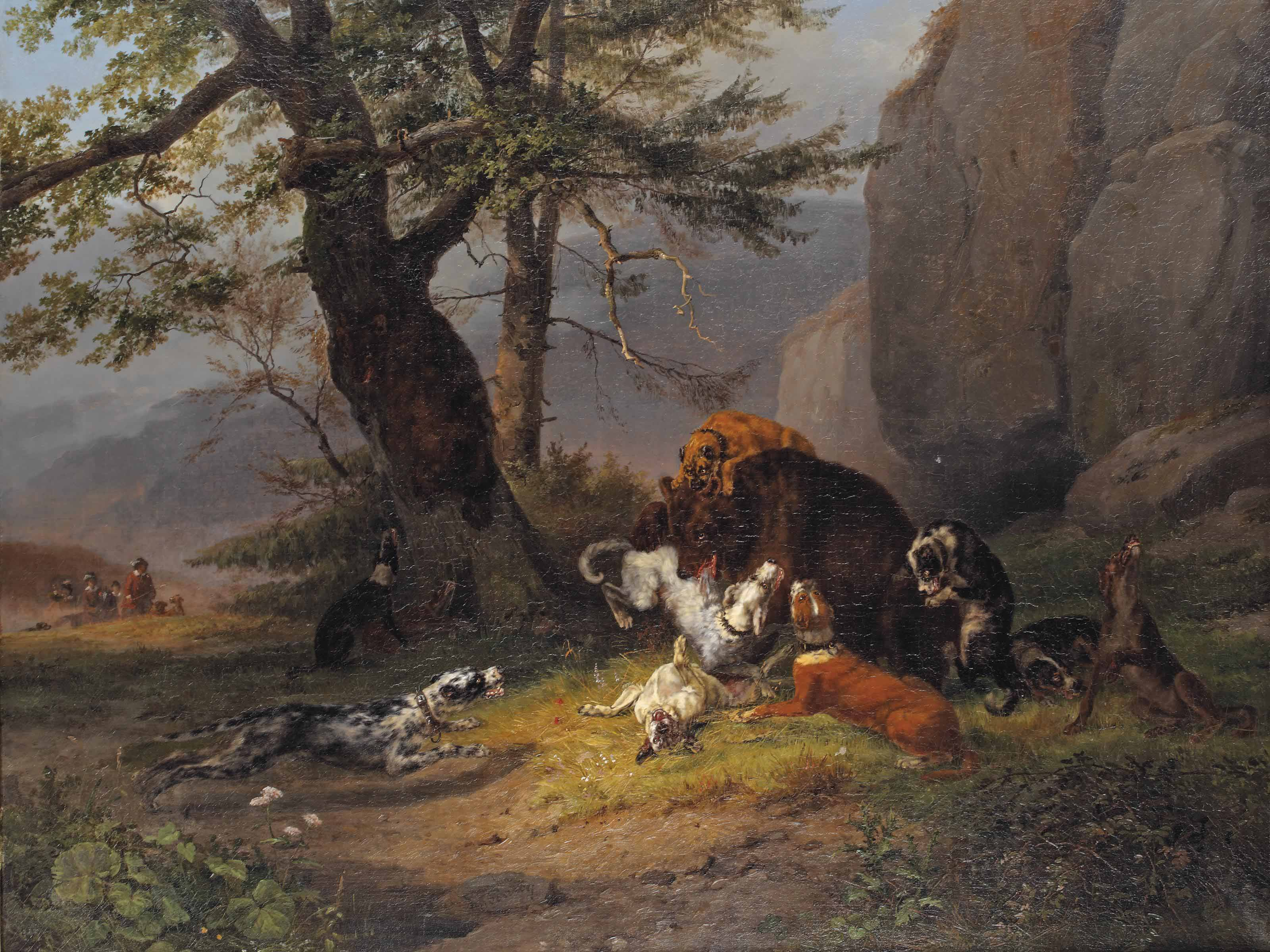 The bear hunt