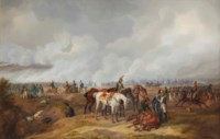 In der Schlacht an der Moscwa: Napoleon's army during the Battle of Borodino, Moscow