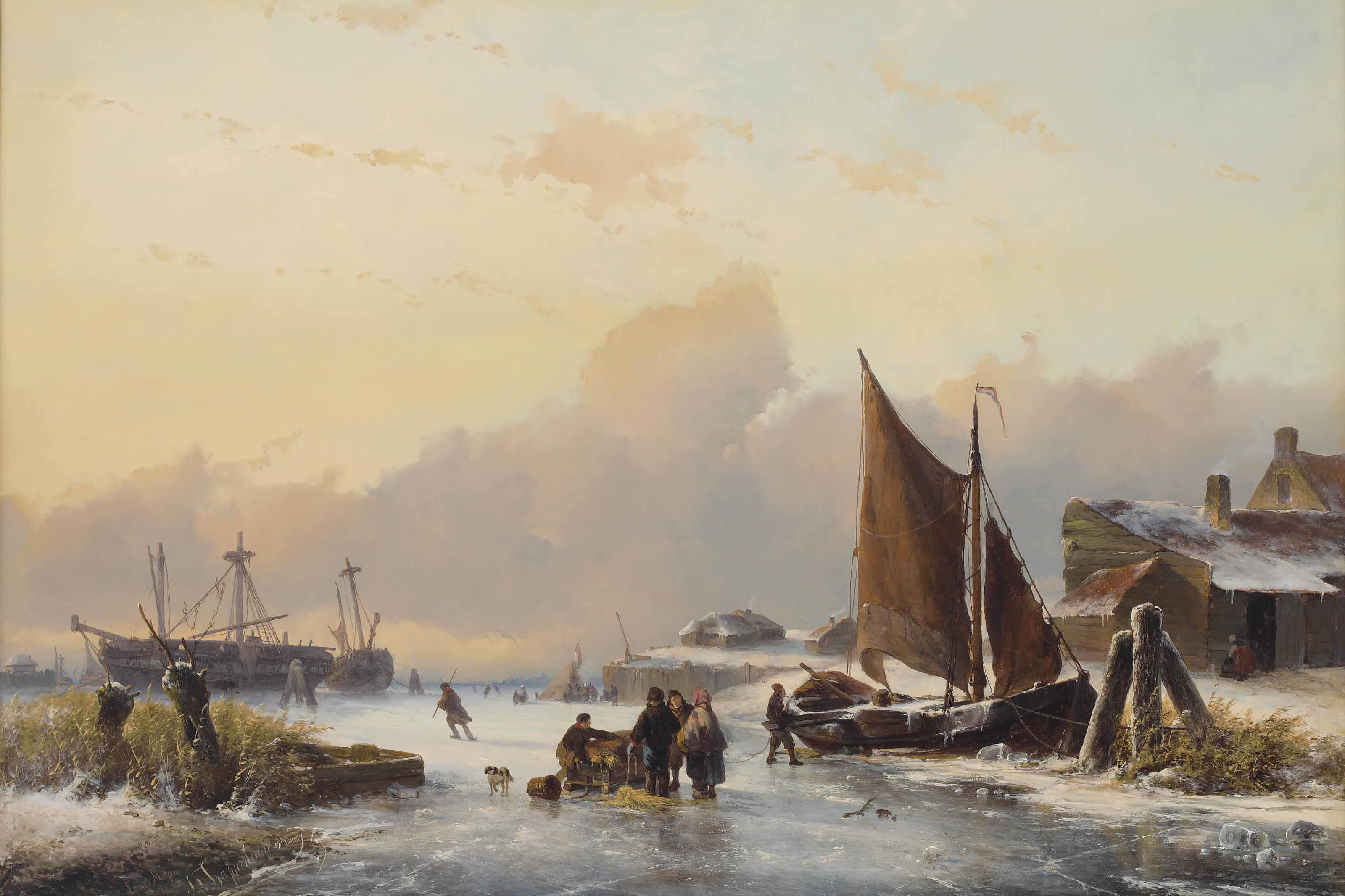 A winter day on the Dutch coast