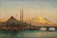 Istanbul, Valide und Solimanie Moschee; Istanbul, Valide and the Suleymaniye mosque