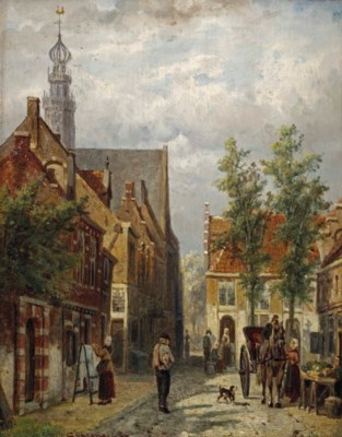 Cornelis Springer (Amsterdam 1