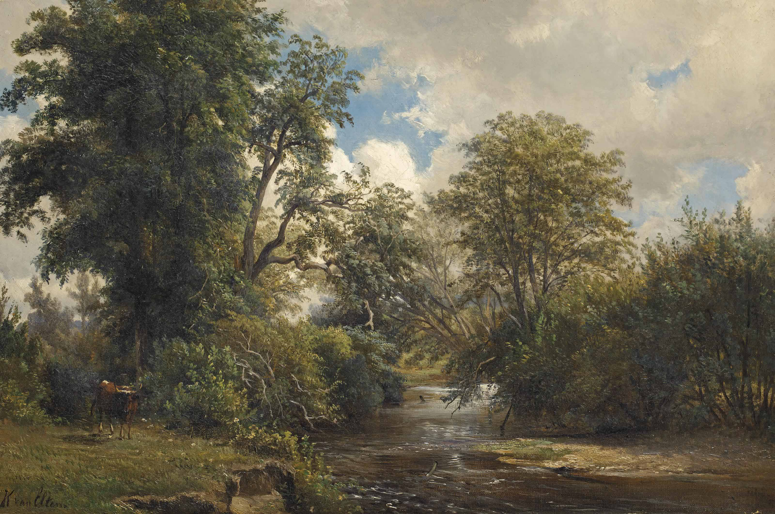On Salmon Brook, Connecticut
