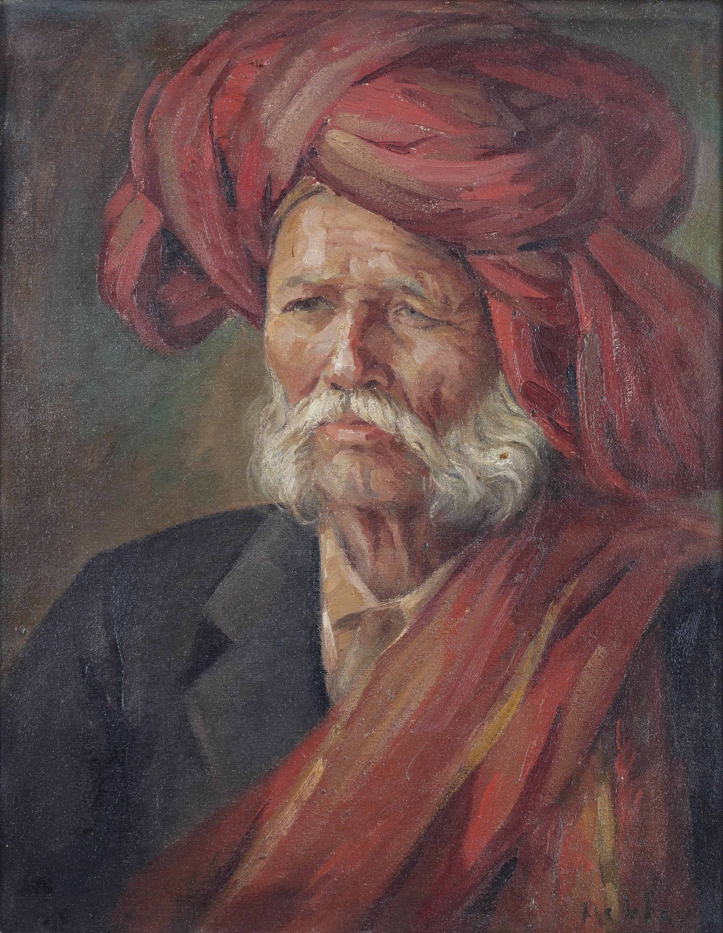 Untitled (Man in Turban)