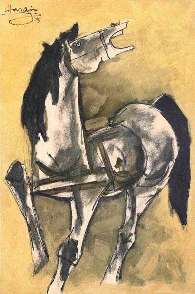 MAQBOOL FIDA HUSAIN (1915-2011