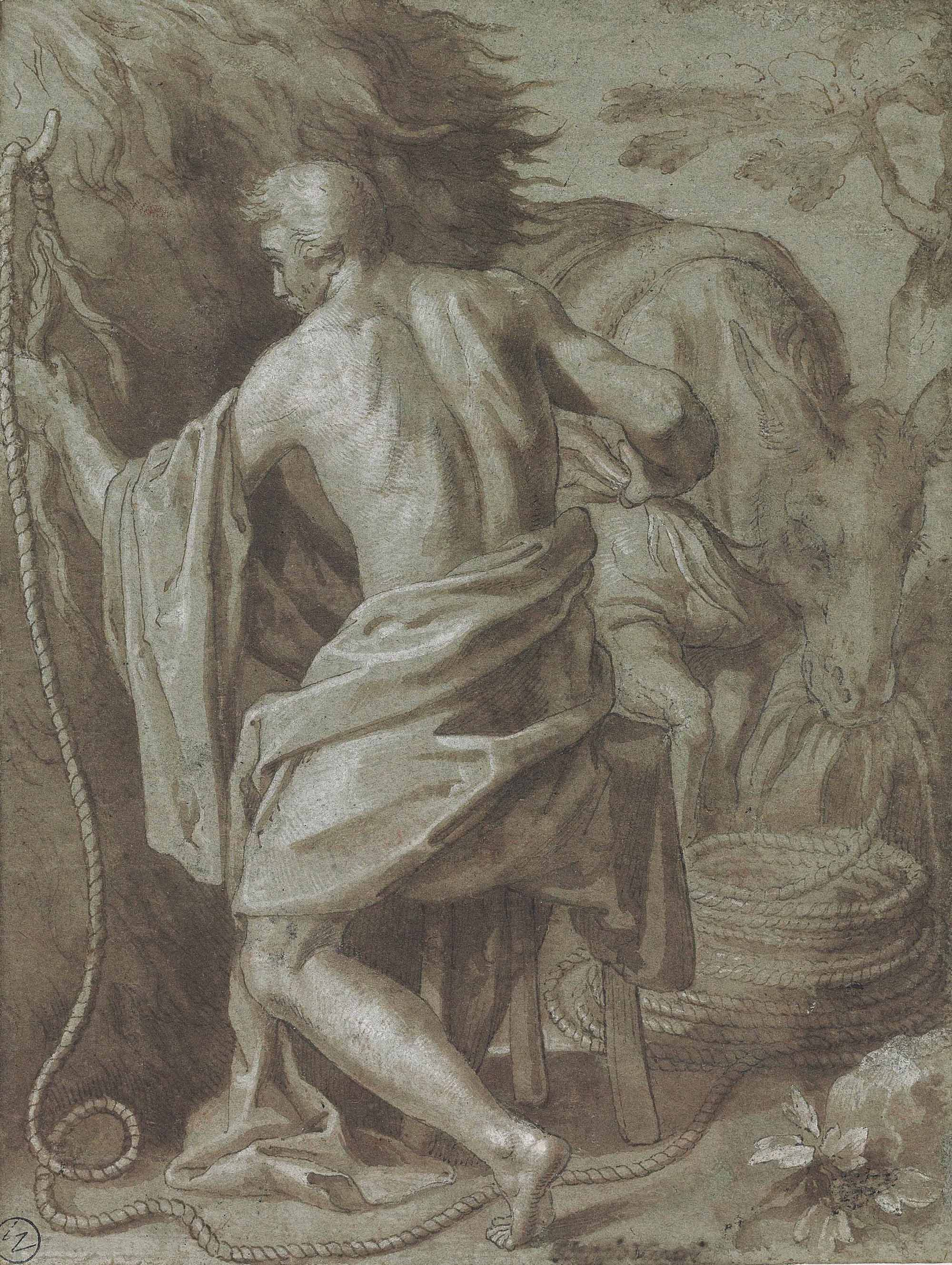 Ocnus: An allegory of the Futility of Labour