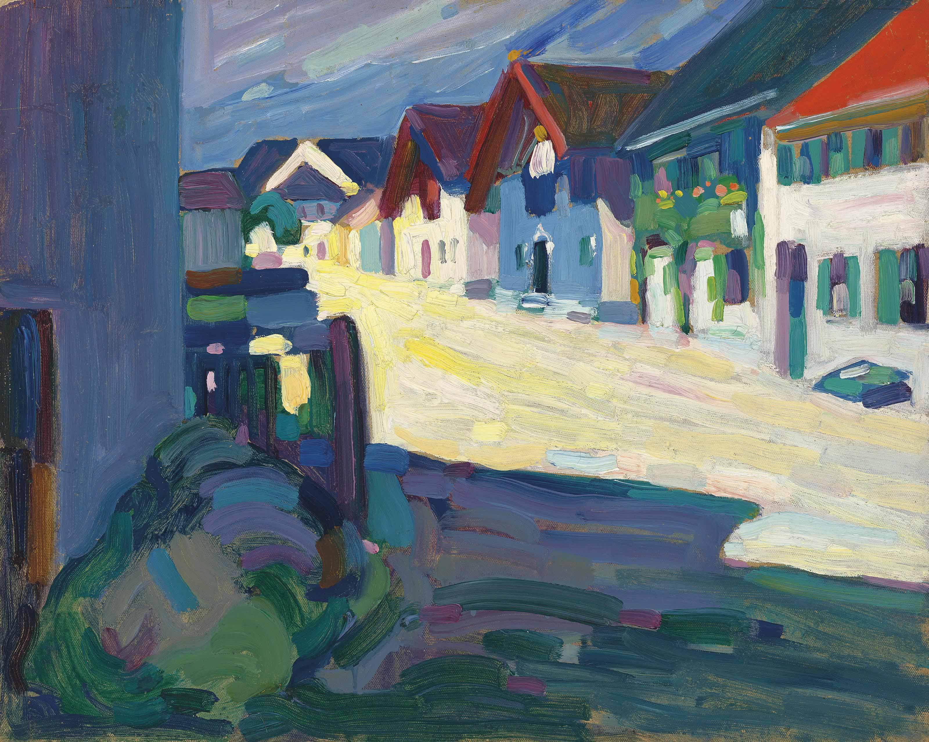 Wassily Kandinsky 1866 1944 Murnau – Strasse